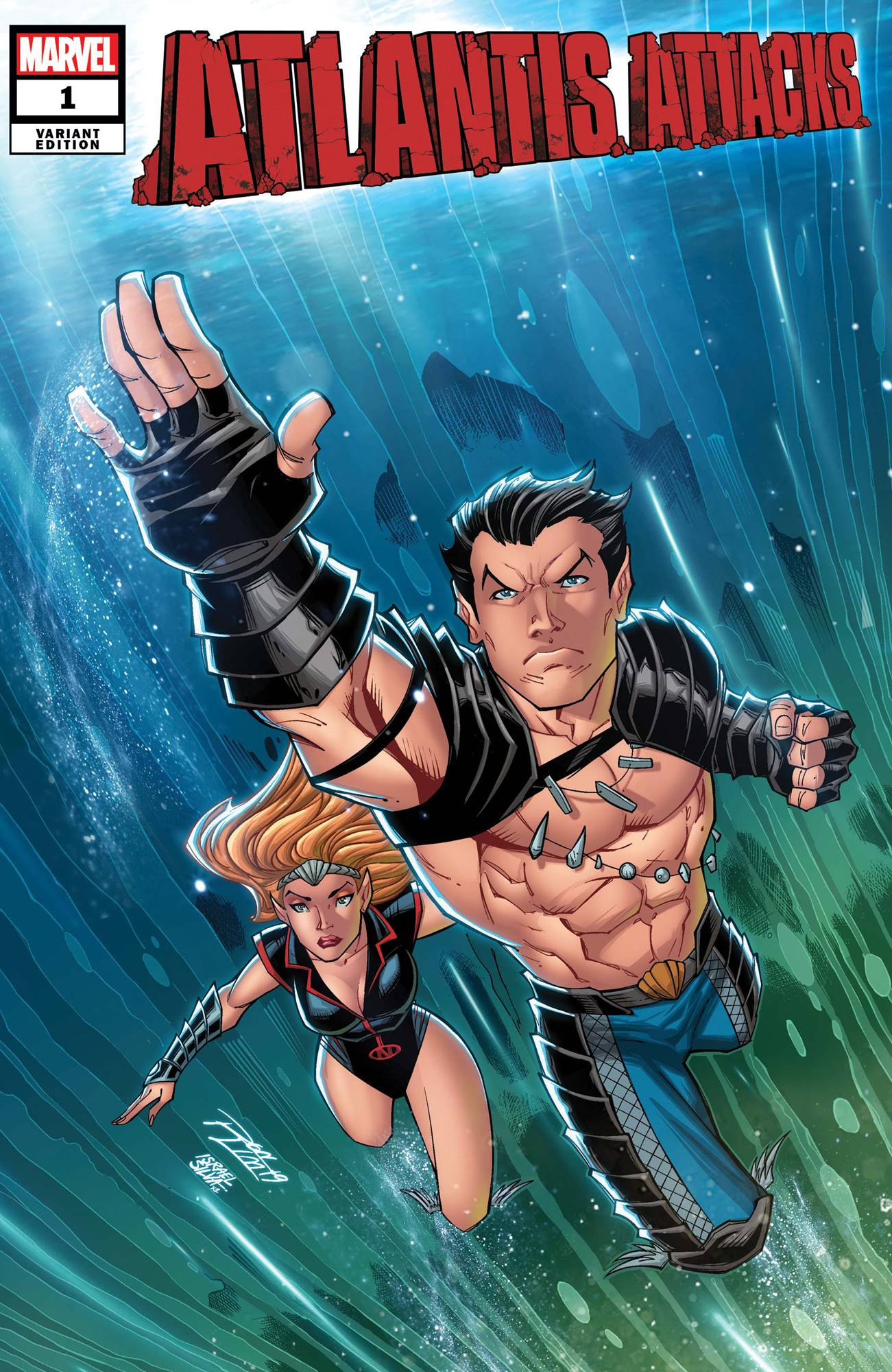 ATLANTIS ATTACKS #1 (OF 5) RON LIM VAR