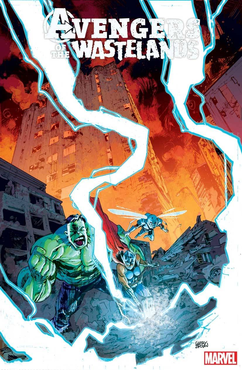 AVENGERS OF THE WASTELANDS #1 (OF 5) GARRY BROWN VAR