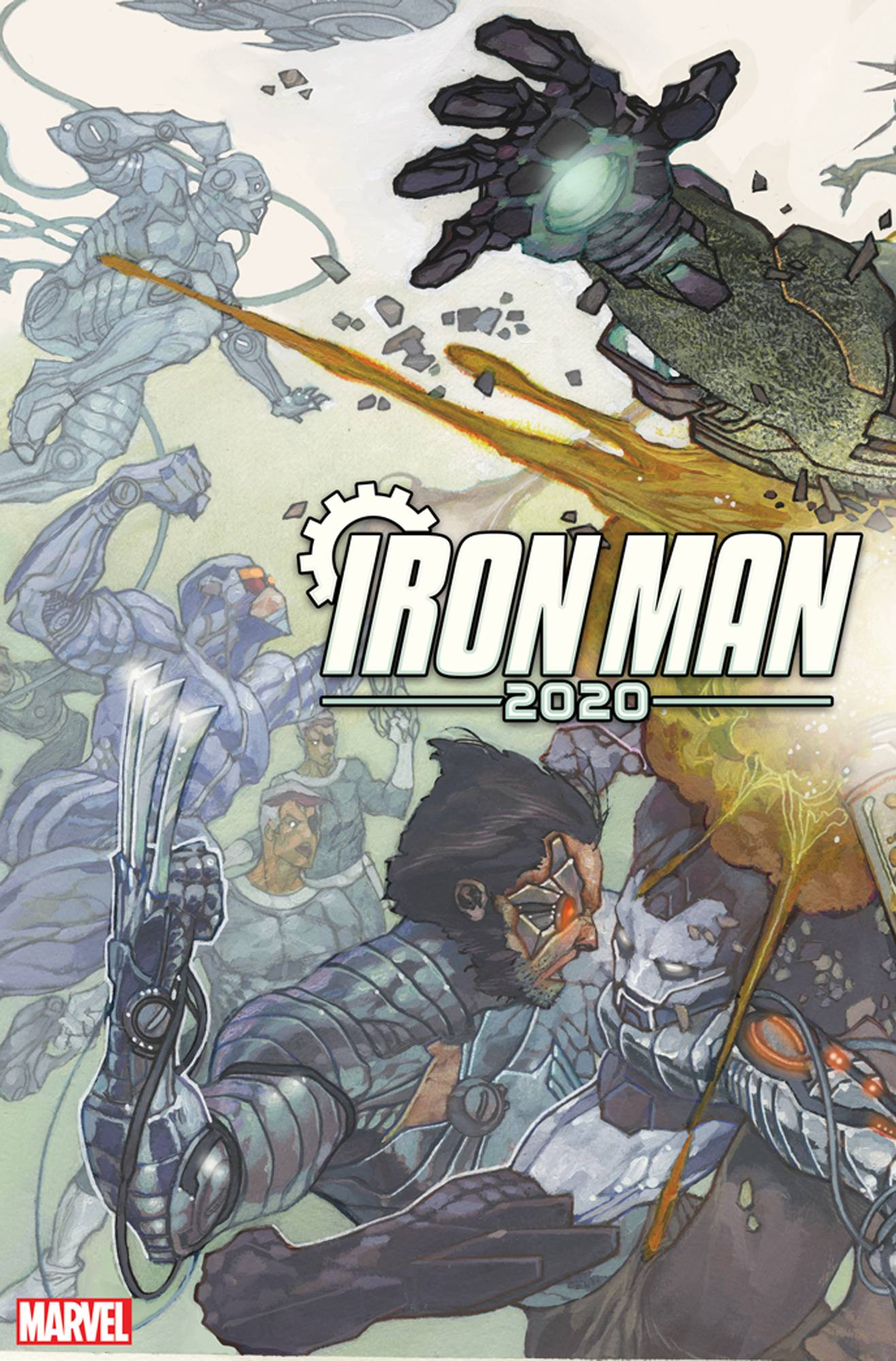 IRON MAN 2020 #1 (OF 6) BIANCHI CONNECTING VAR