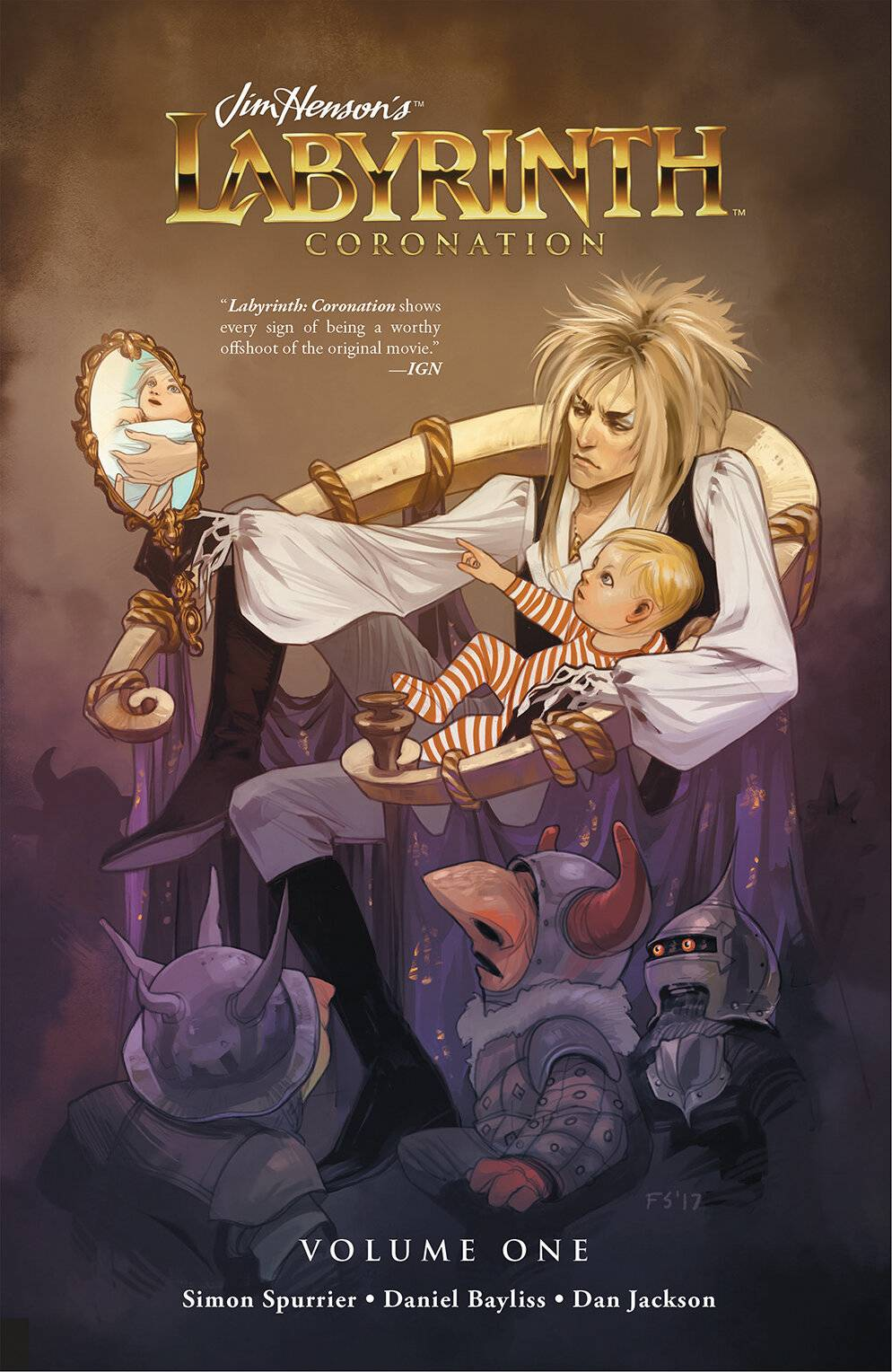 JIM HENSON LABYRINTH CORONATION TP VOL 01