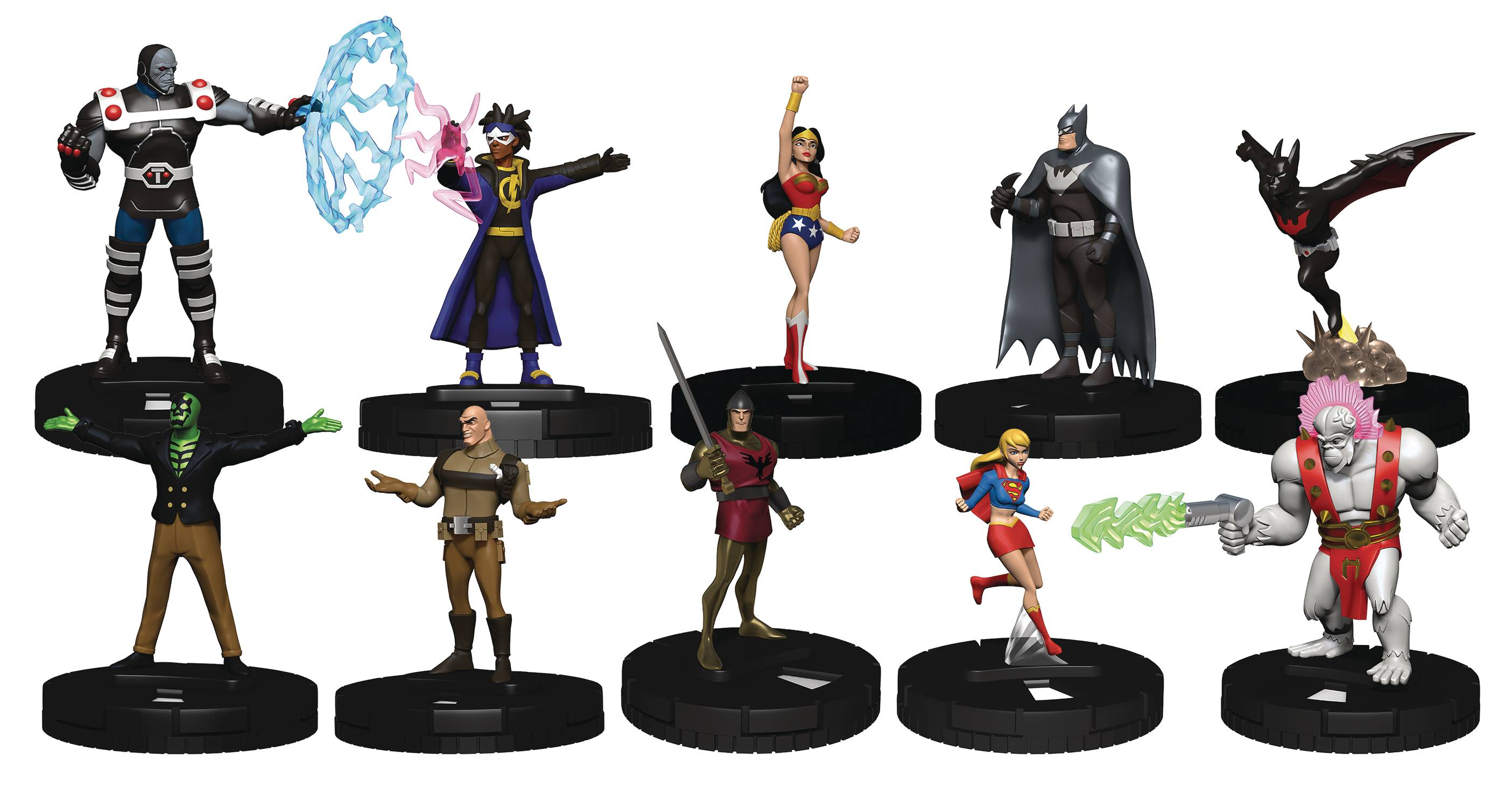 DC COMICS HEROCLIX JUSTICE LEAGUE UNLIMITED BOOSTER BRICK (C