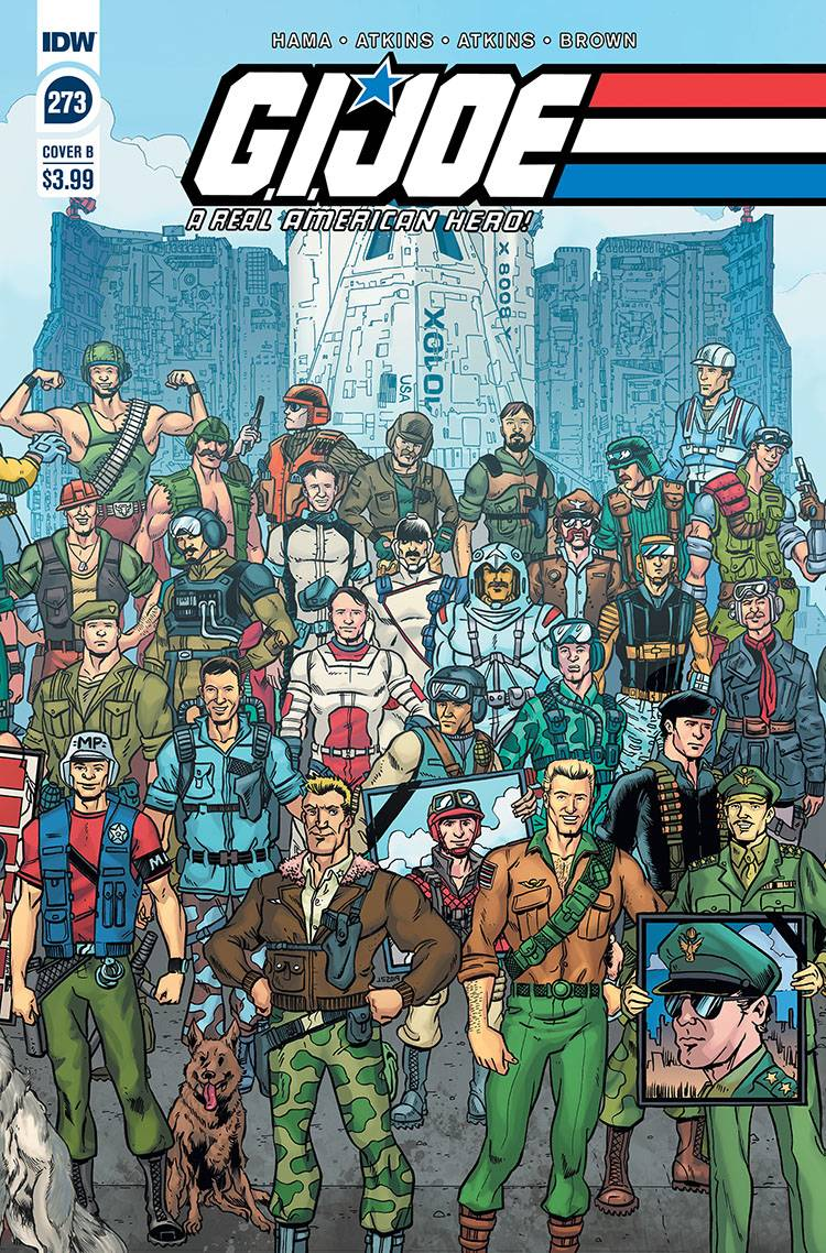 GI JOE A REAL AMERICAN HERO #273 CVR B SULLIVAN