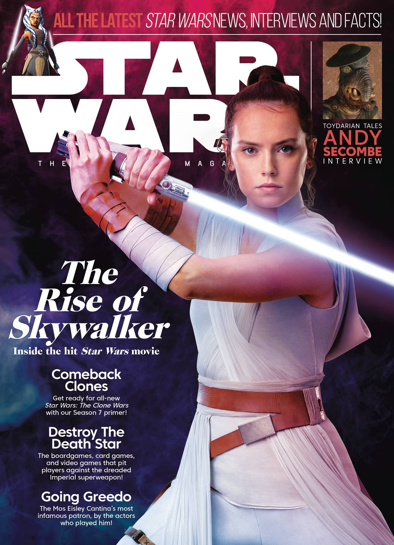 STAR WARS INSIDER #195 NEWSSTAND ED