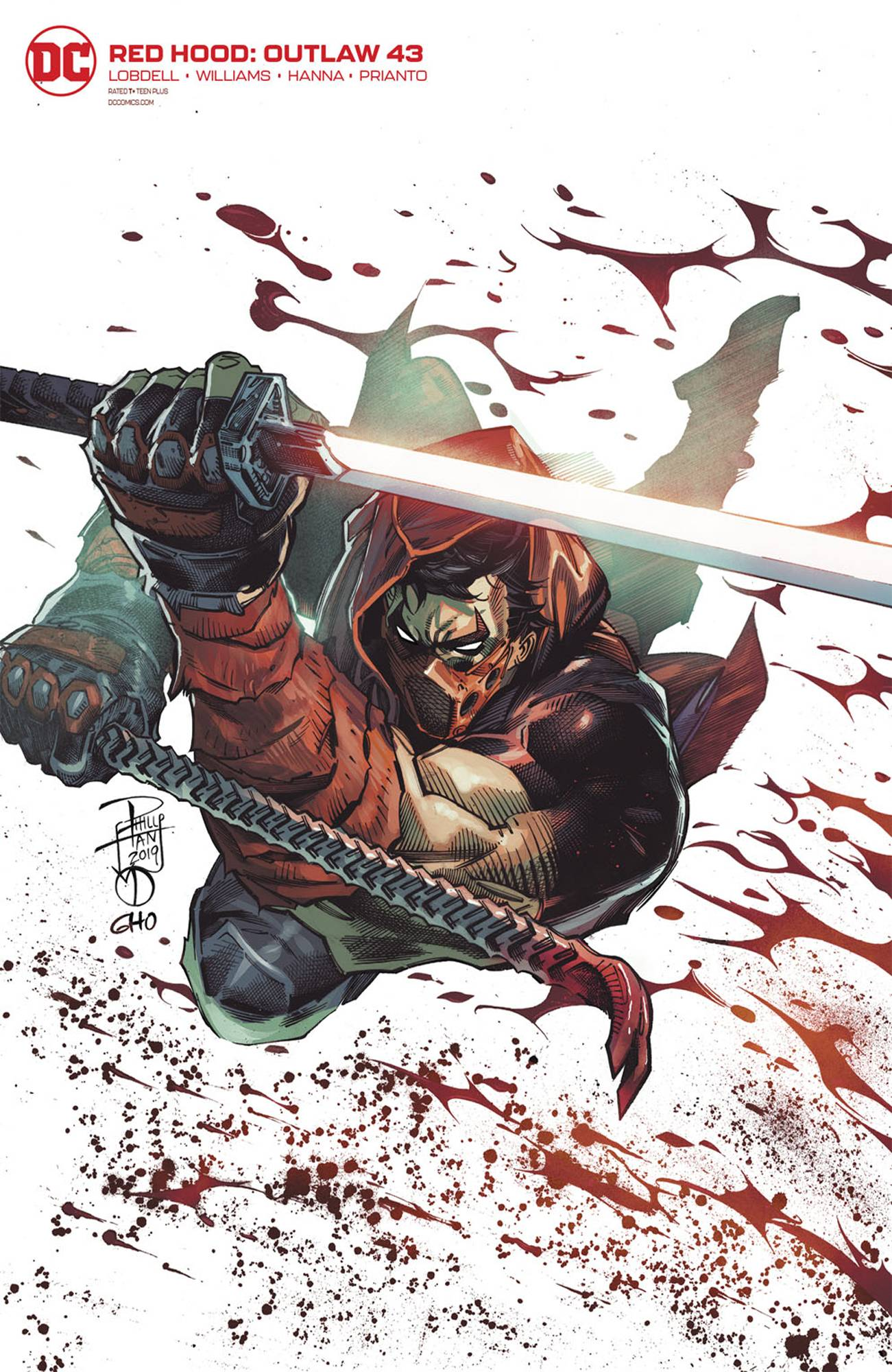 RED HOOD OUTLAW #43 PHILIP TAN VAR ED