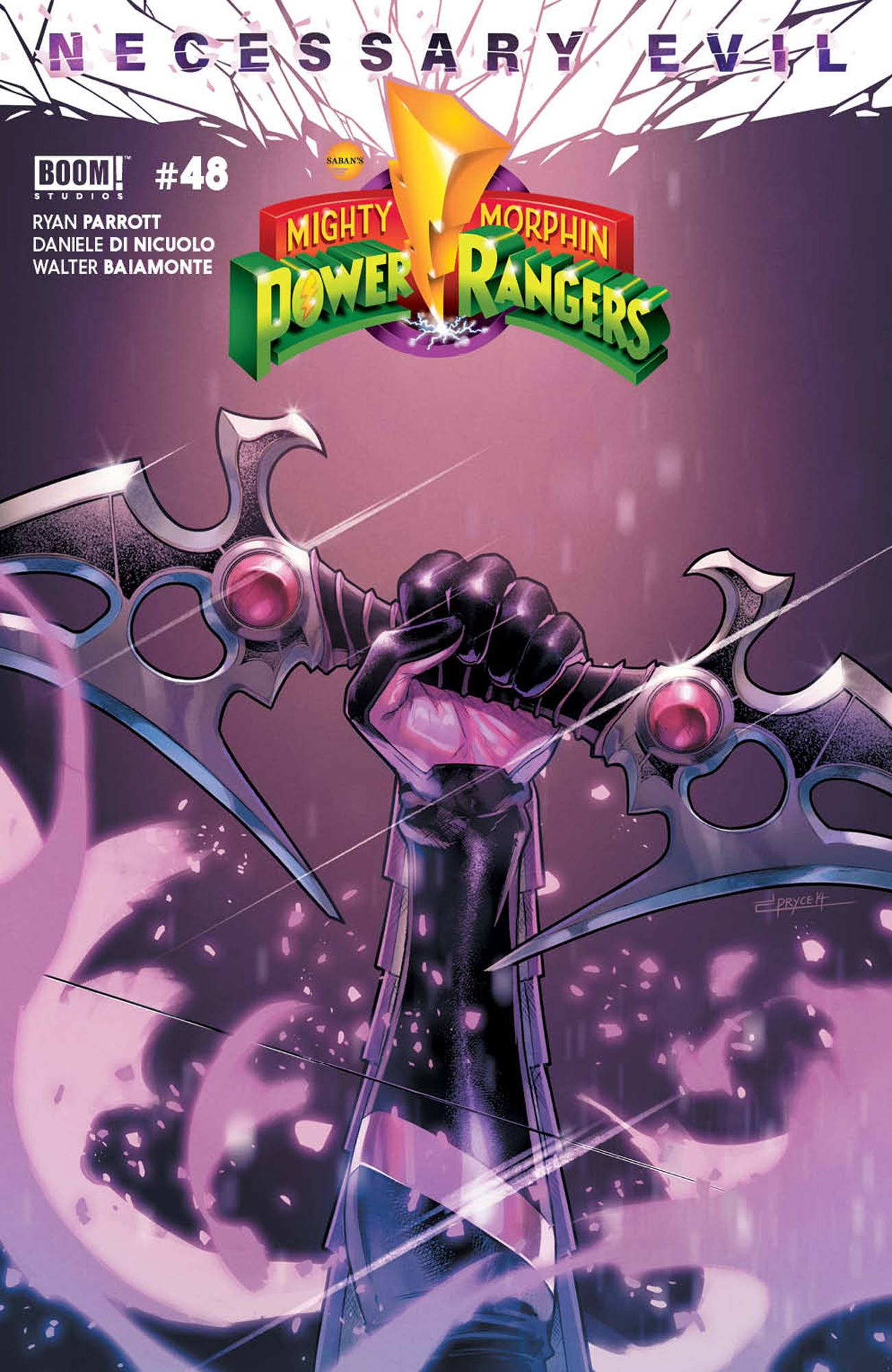 MIGHTY MORPHIN POWER RANGERS #48 CVR A CAMPBELL