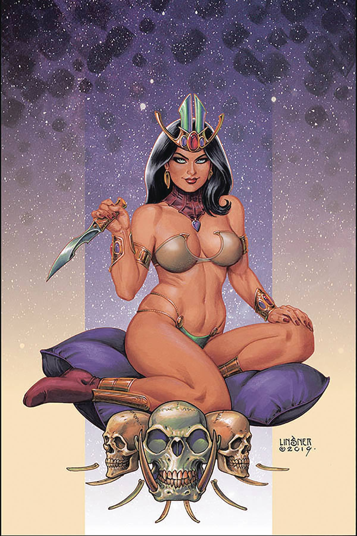 DEJAH THORIS (2019) #3 LINSNER LTD VIRGIN CVR