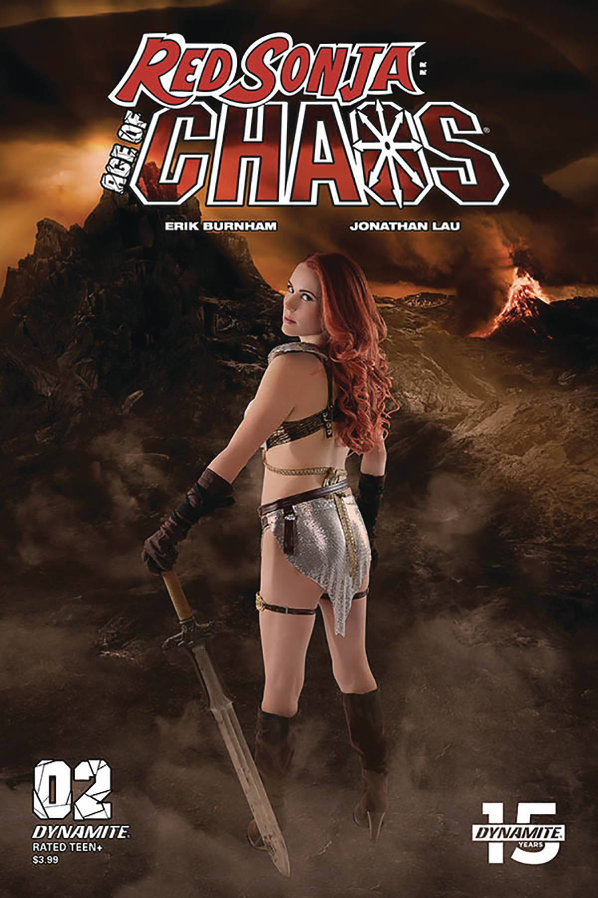RED SONJA AGE OF CHAOS #2 CVR E COSPLAY