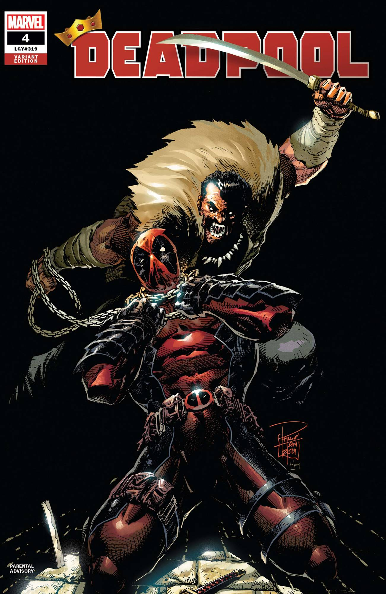 DEADPOOL #4 TAN VAR