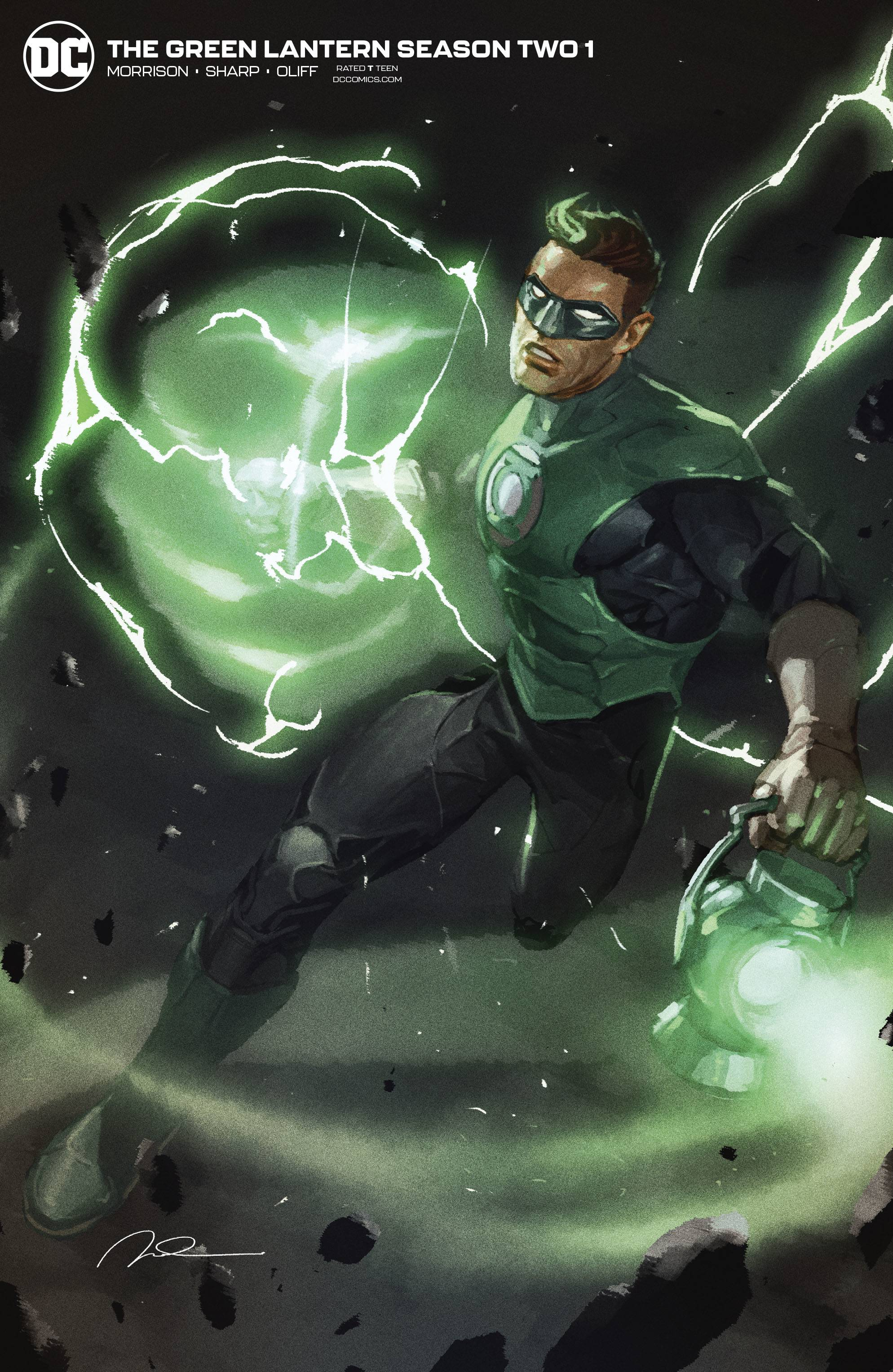 GREEN LANTERN SEASON 2 #1 (OF 12) GERALD PAREL VAR ED