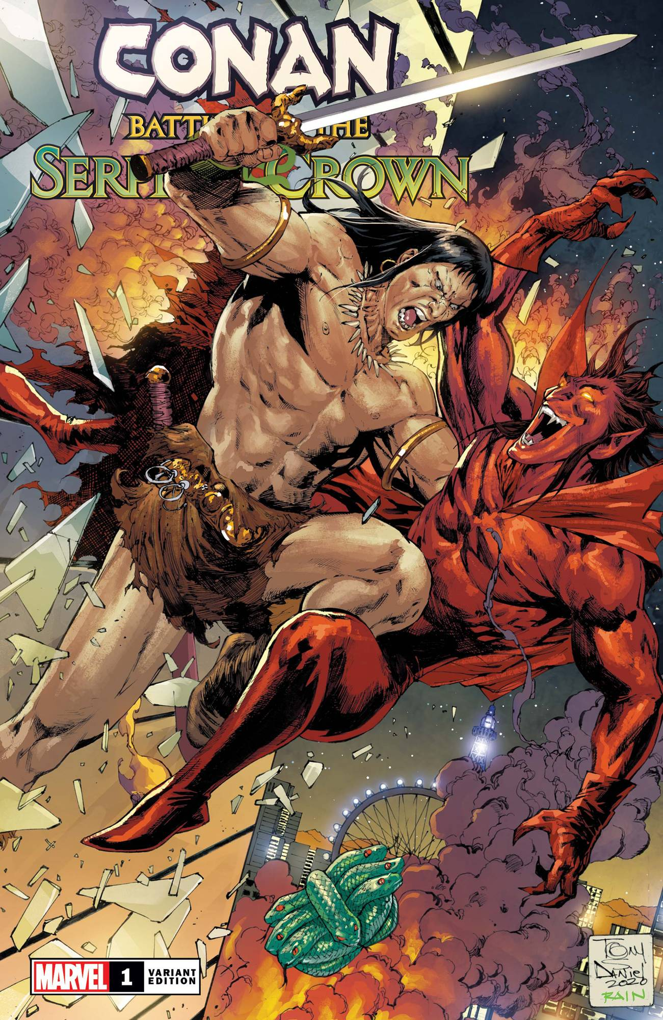CONAN BATTLE FOR SERPENT CROWN #1 (OF 5) DANIEL VAR