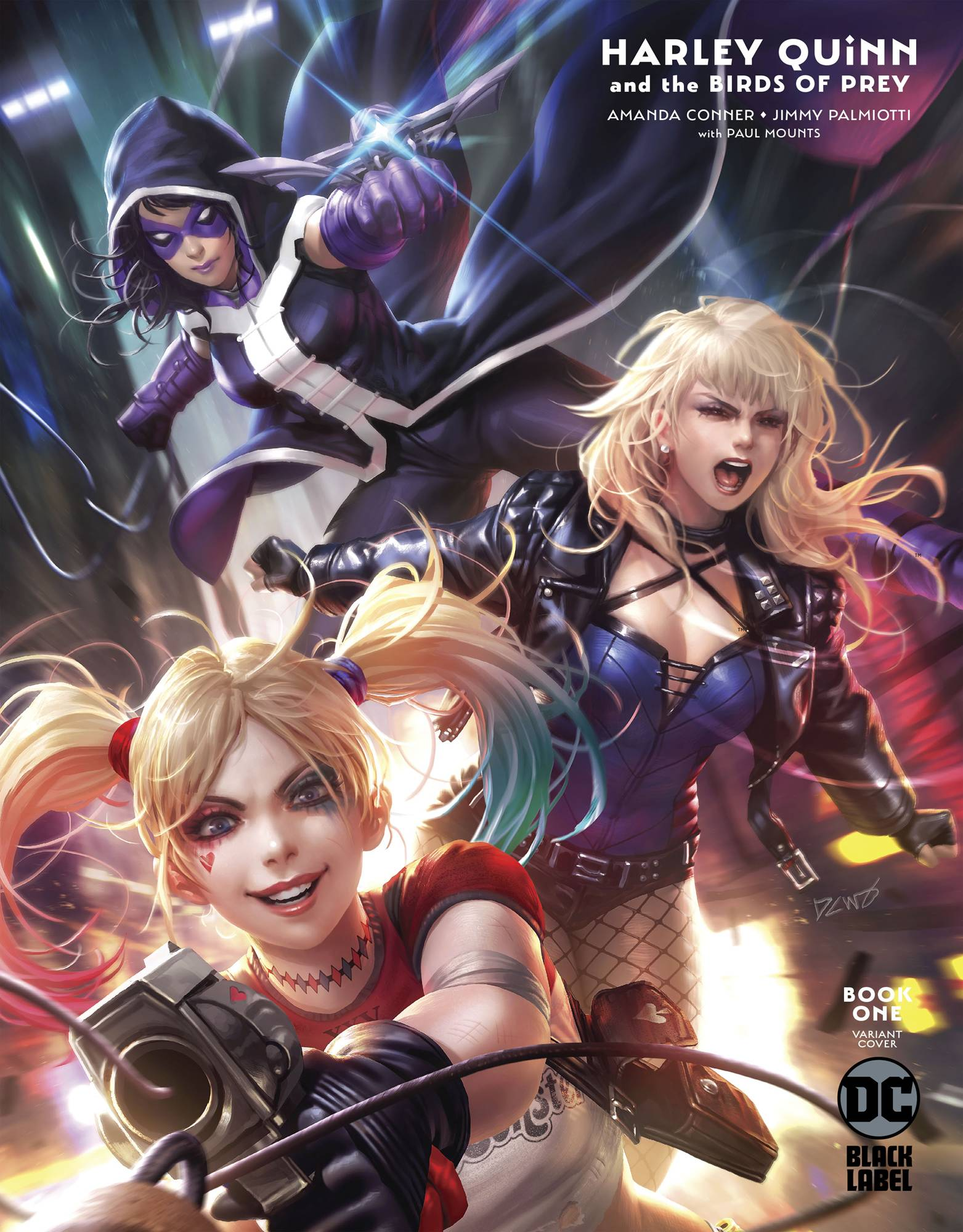 HARLEY QUINN & THE BIRDS OF PREY #1 (OF 4) DERRICK CHEW VAR