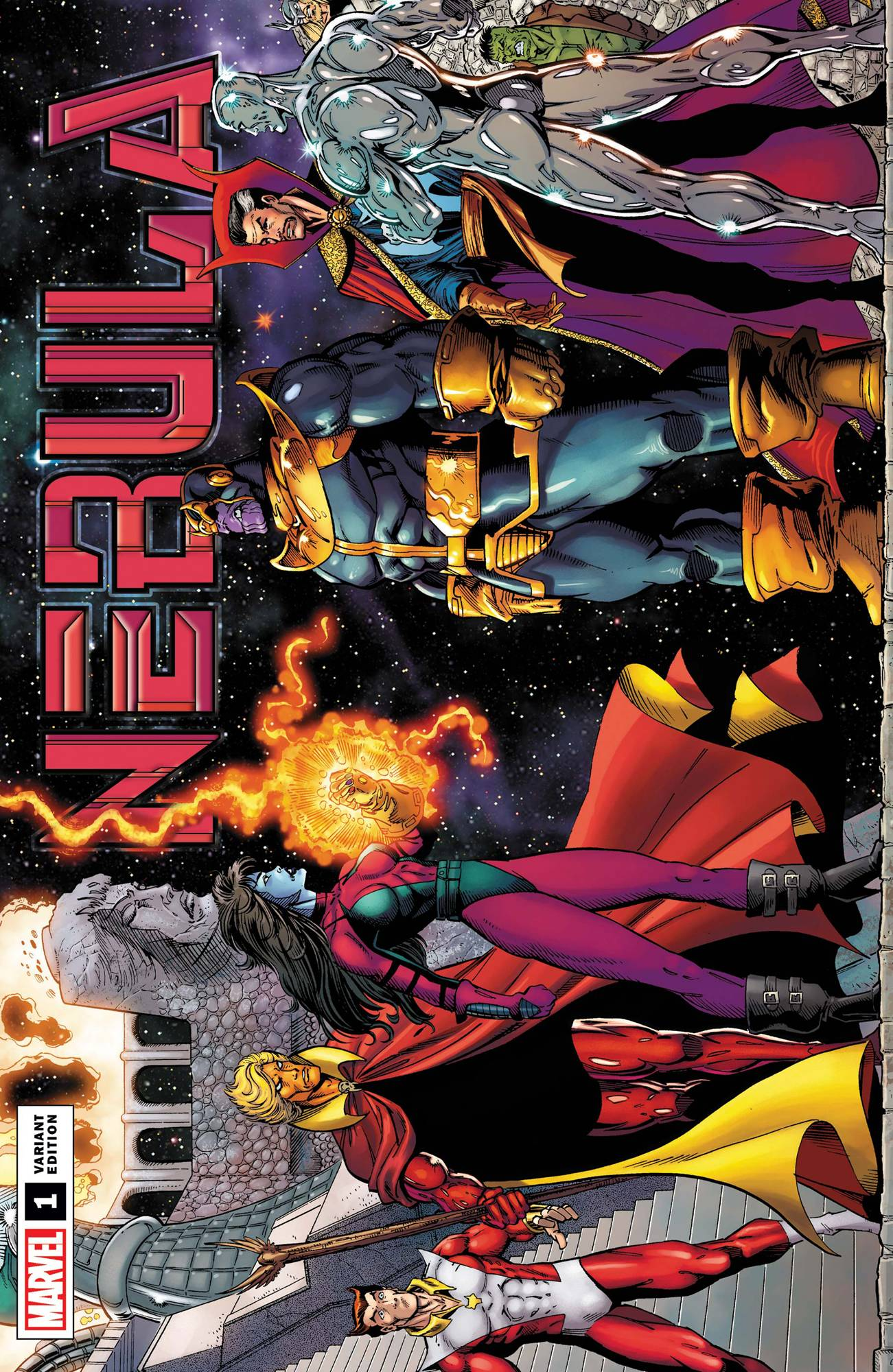 NEBULA #1 (OF 5) RON LIM REMASTERED VAR
