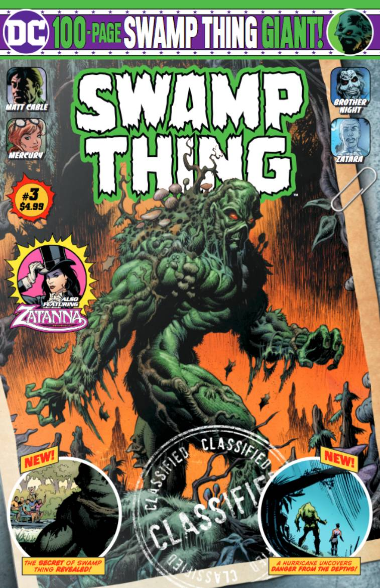 SWAMP THING GIANT #3