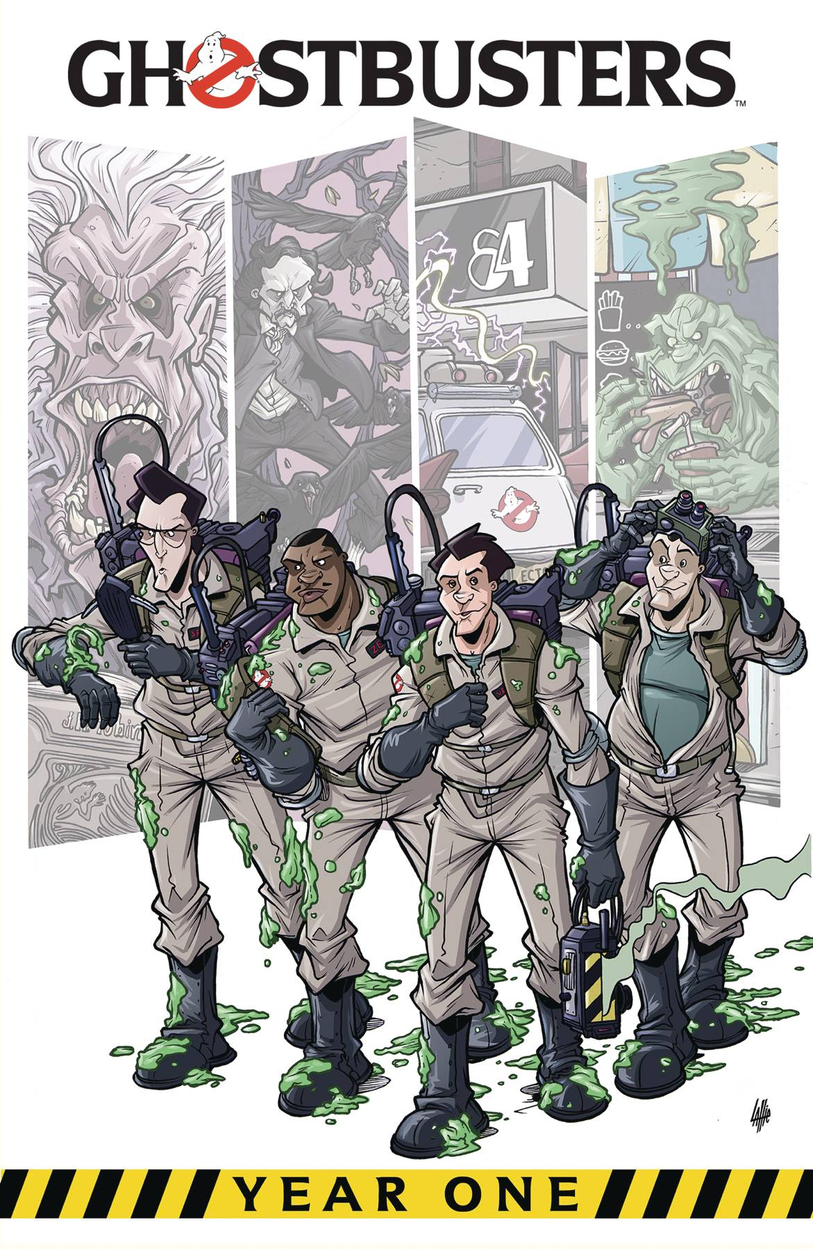 GHOSTBUSTERS YEAR ONE TP VOL 01