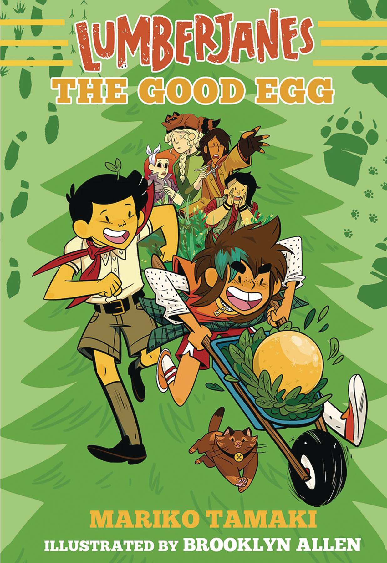LUMBERJANES ILLUS SC NOVEL VOL 03 GOOD EGG