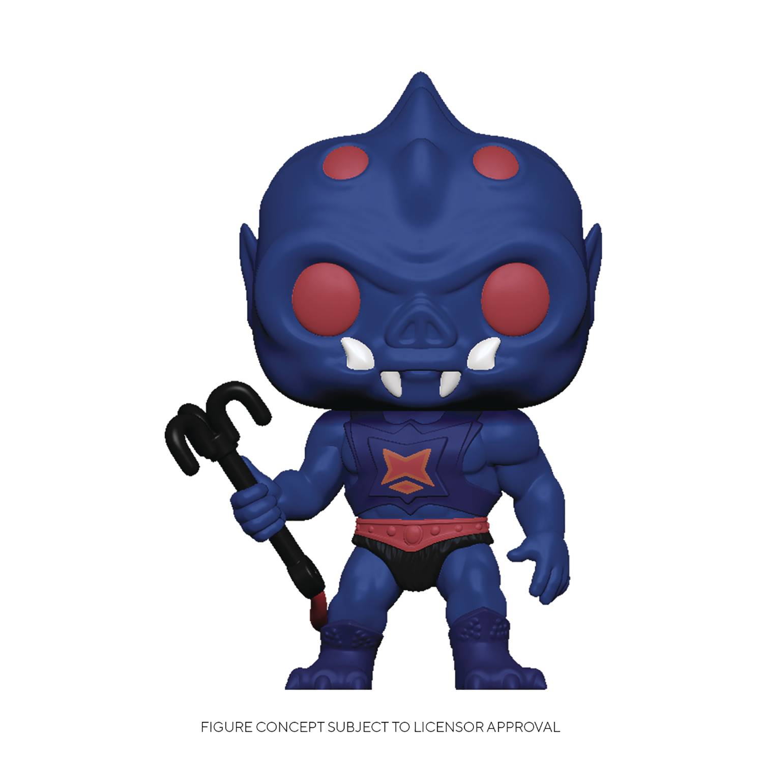 POP ANIMATION MOTU WEBSTOR VINYL FIGURE