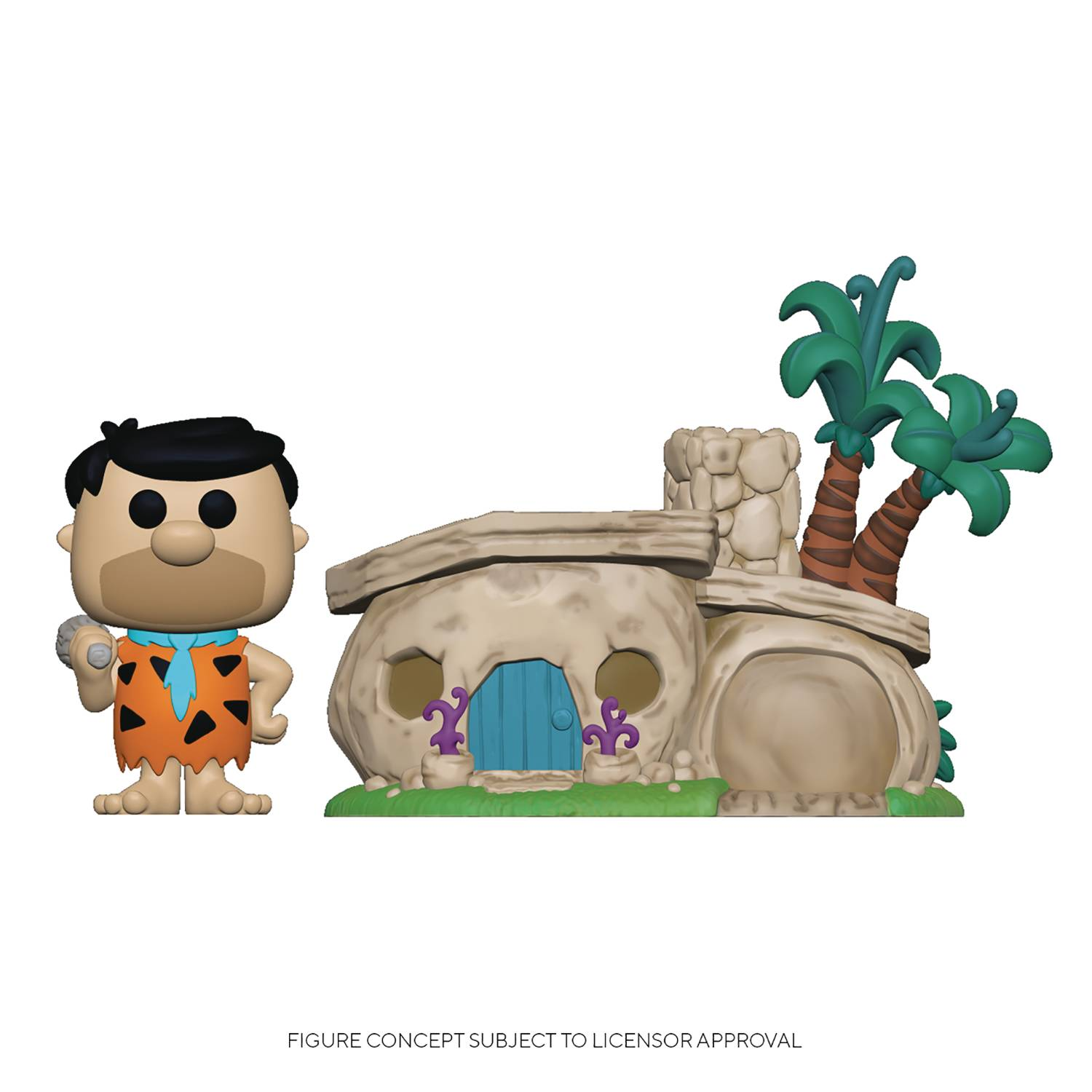POP TOWN FLINTSTONES FLINTSTONES HOME VIN FIG