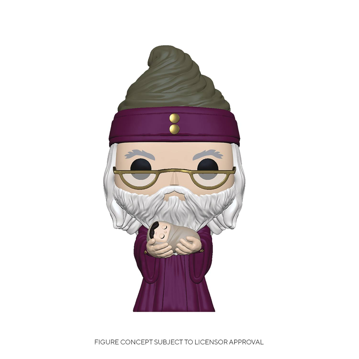 POP HP DUMBLEDORE W/ BABY HARRY VINYL FIG