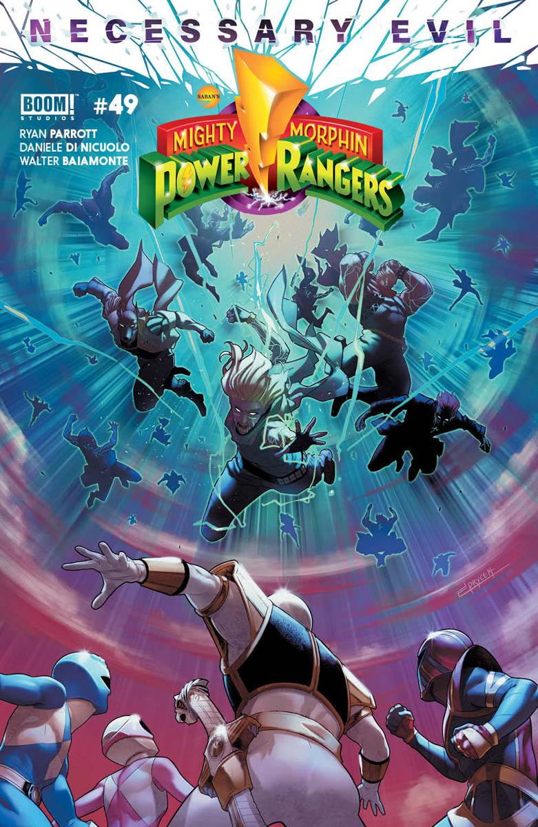 MIGHTY MORPHIN POWER RANGERS #49 CVR A CAMPBELL