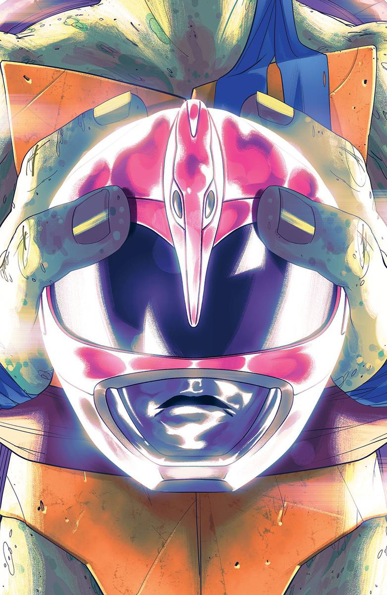 POWER RANGERS TEENAGE MUTANT NINJA TURTLES #4 LEO MONTES