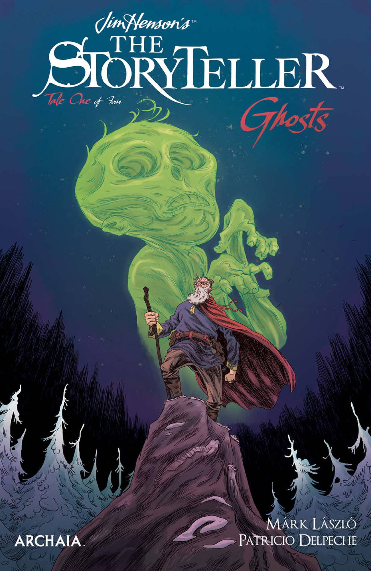 JIM HENSON STORYTELLER GHOSTS #1 (OF 4) CVR B LASZLO