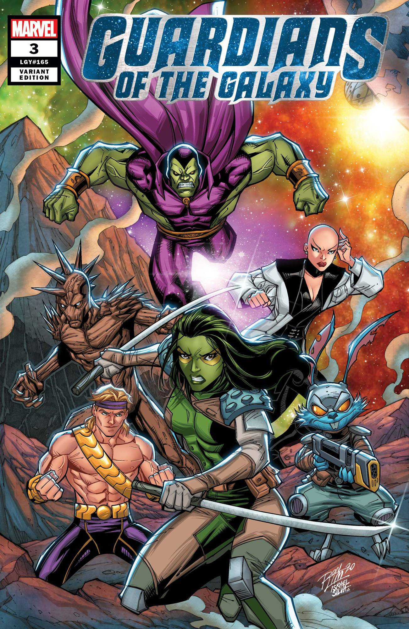 GUARDIANS OF THE GALAXY #3 RON LIM VAR