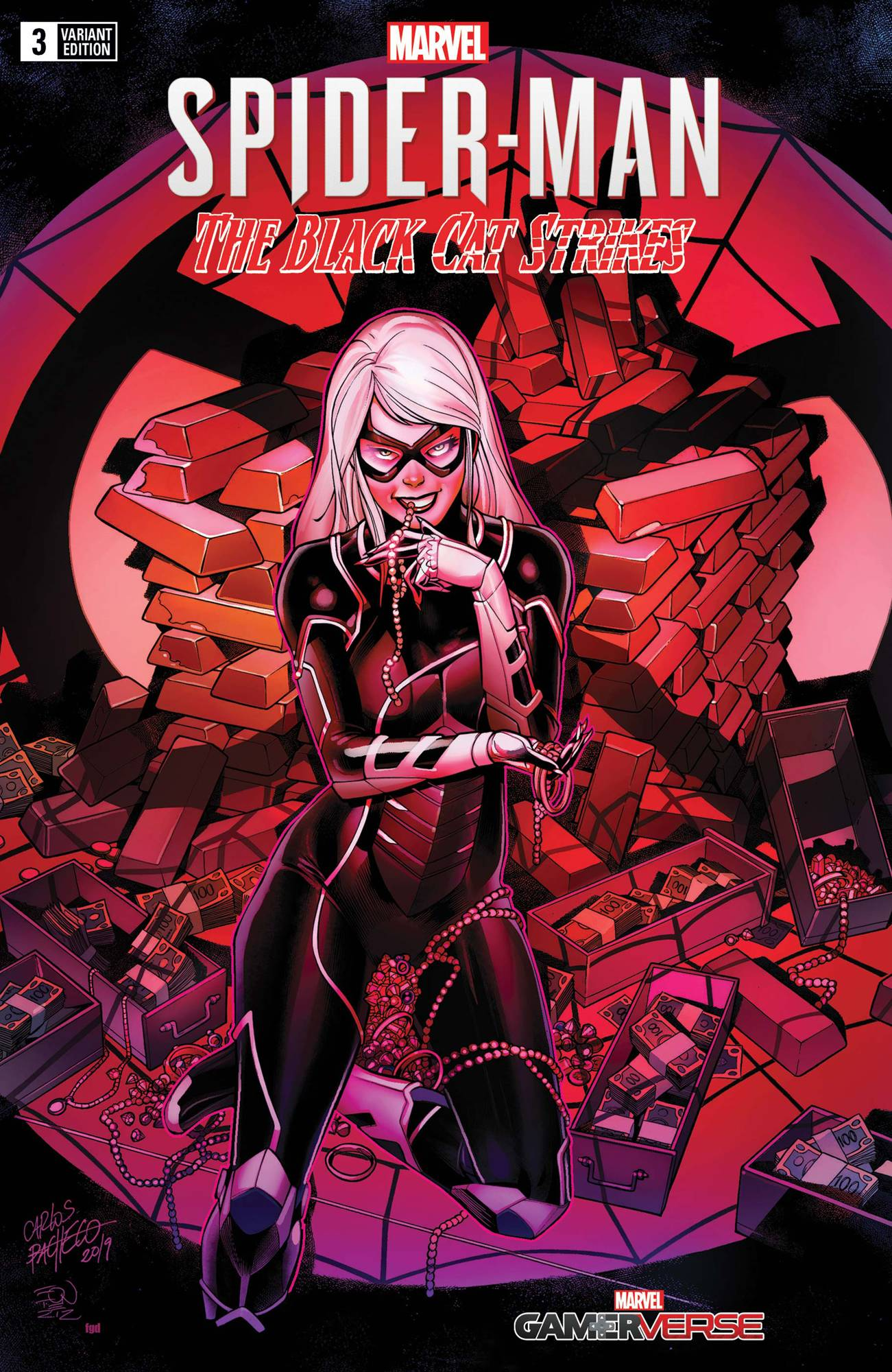 MARVELS SPIDER-MAN BLACK CAT STRIKES #3 (OF 5) PACHECO VAR