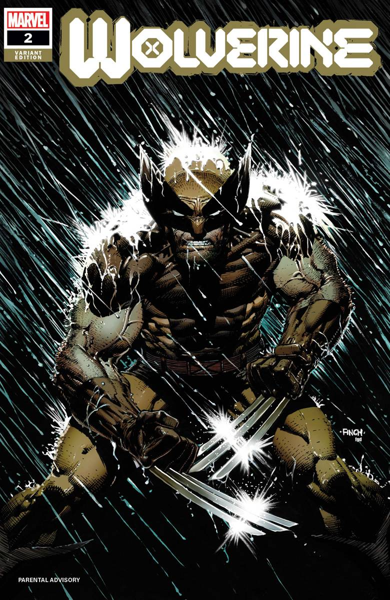 WOLVERINE #2 FINCH VAR DX