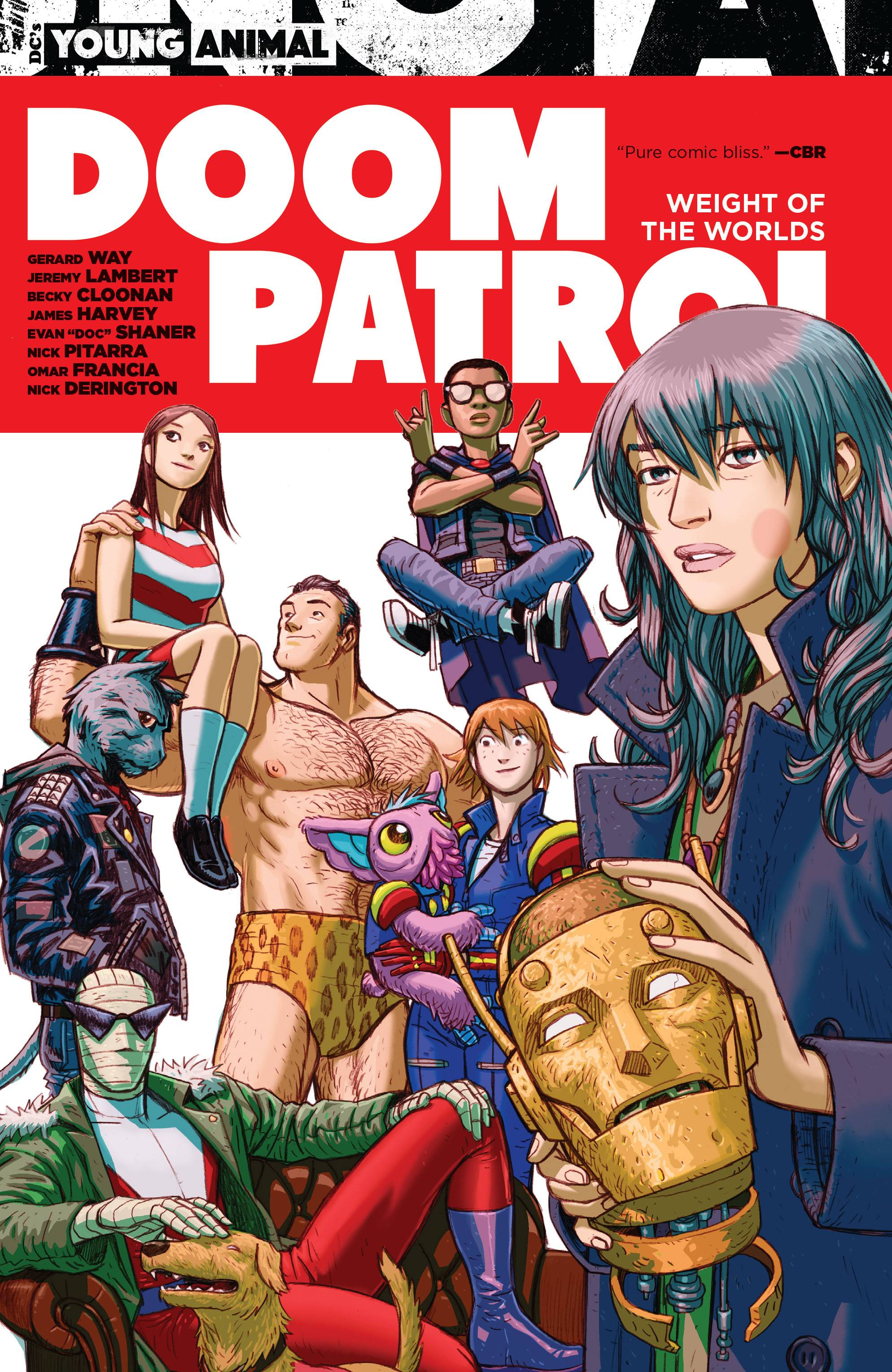 DOOM PATROL WEIGHT OF THE WORLD TP (RES) (MR)