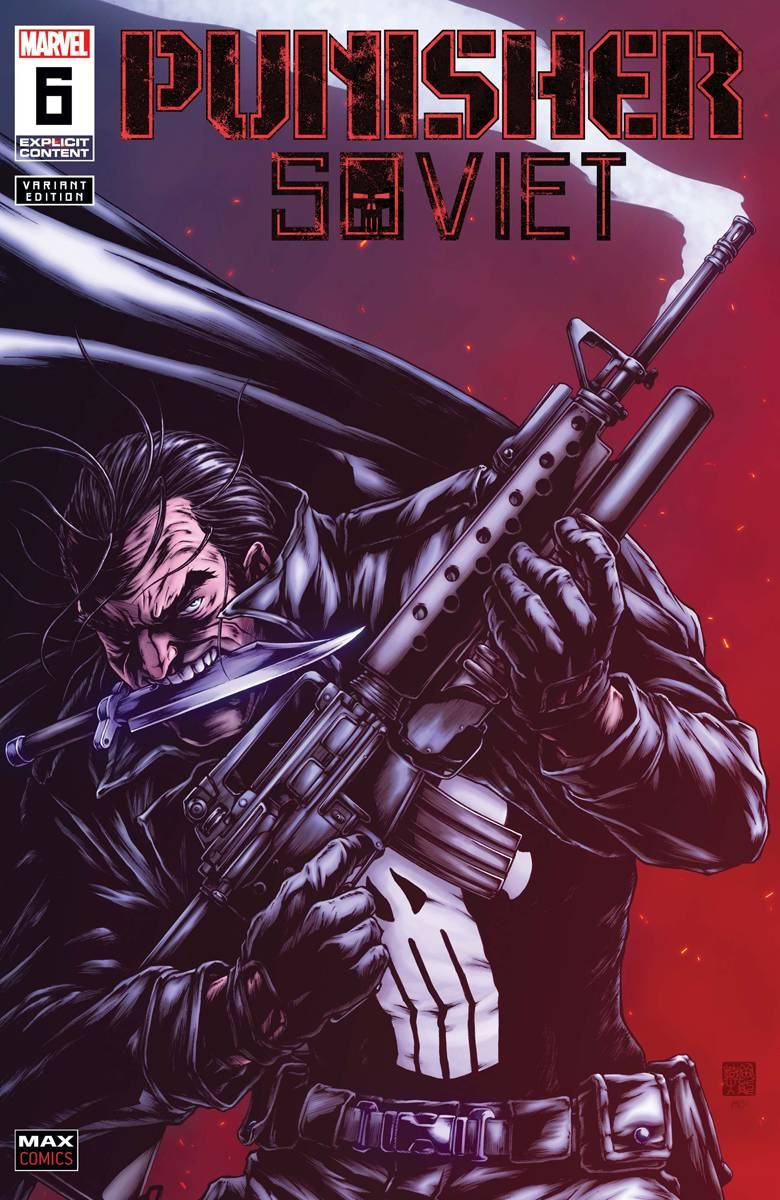 PUNISHER SOVIET #6 (OF 6) OKAZAKI VAR (MR)