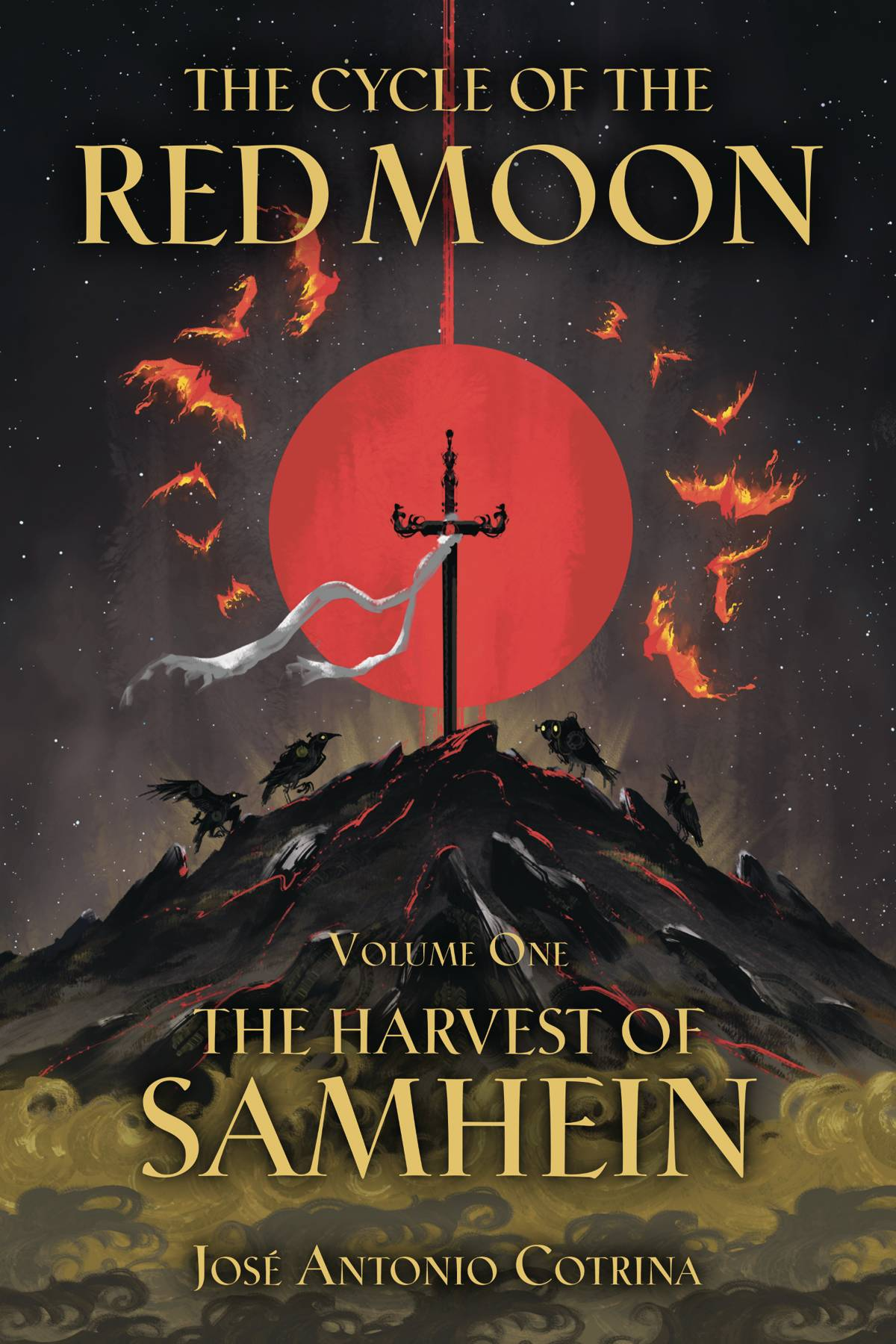 CYCLE OF RED MOON TP VOL 01 HARVEST OF SAMHEIN (RES)