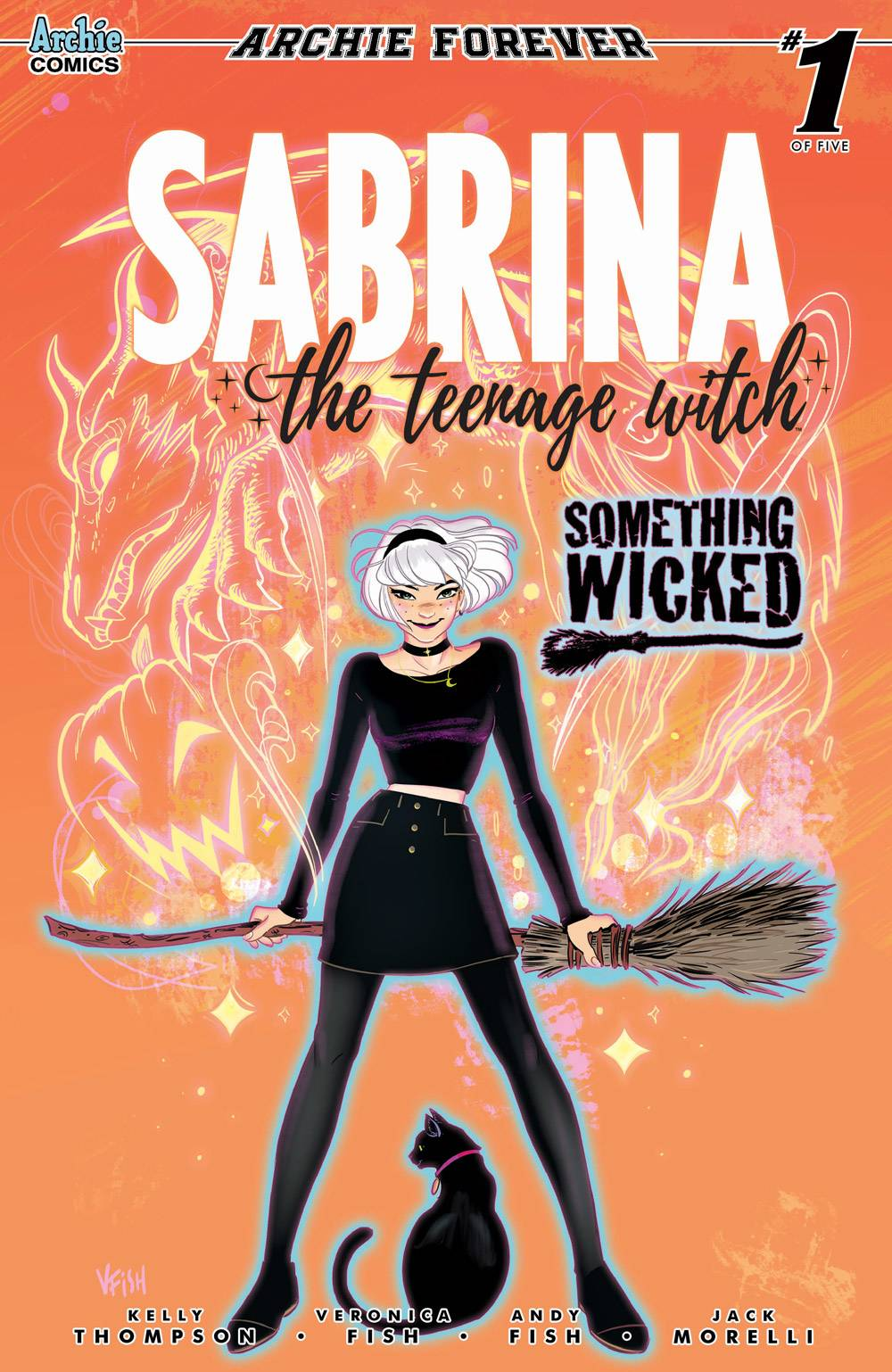 SABRINA SOMETHING WICKED #1 (OF 5) CVR A FISH