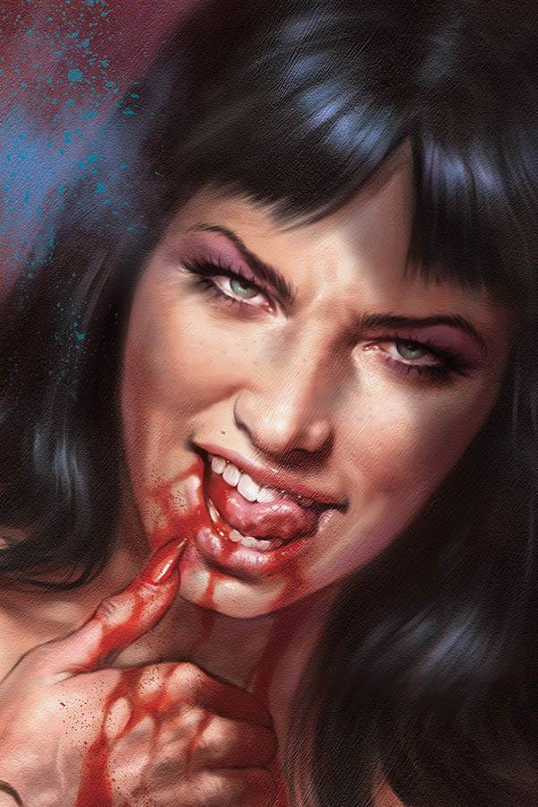 VAMPIRELLA #7 35 COPY PARRILLO VAMP #8 VIRGIN SNEAK PEEK FOC