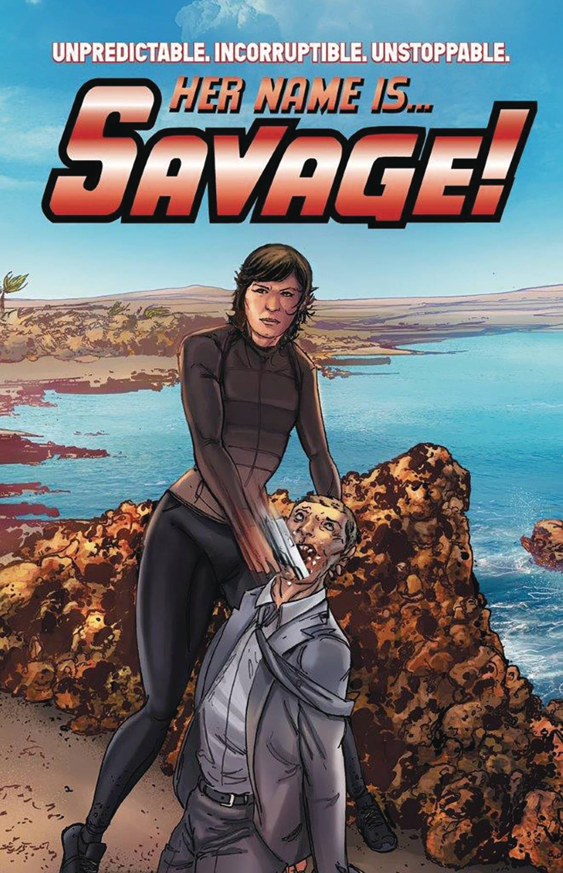 HER NAME IS SAVAGE GN VOL 01
