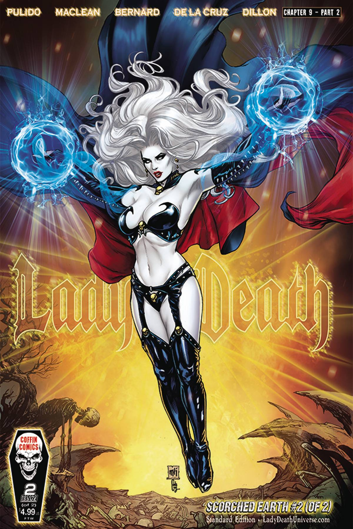 LADY DEATH SCORCHED EARTH #2 (OF 2) CVR A STANDARD (RES) (MR