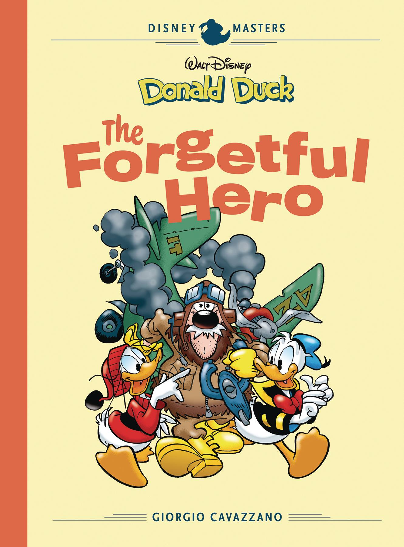 DISNEY MASTERS HC VOL 12 CAVAZZANO DONALD DUCK FORGETFUL