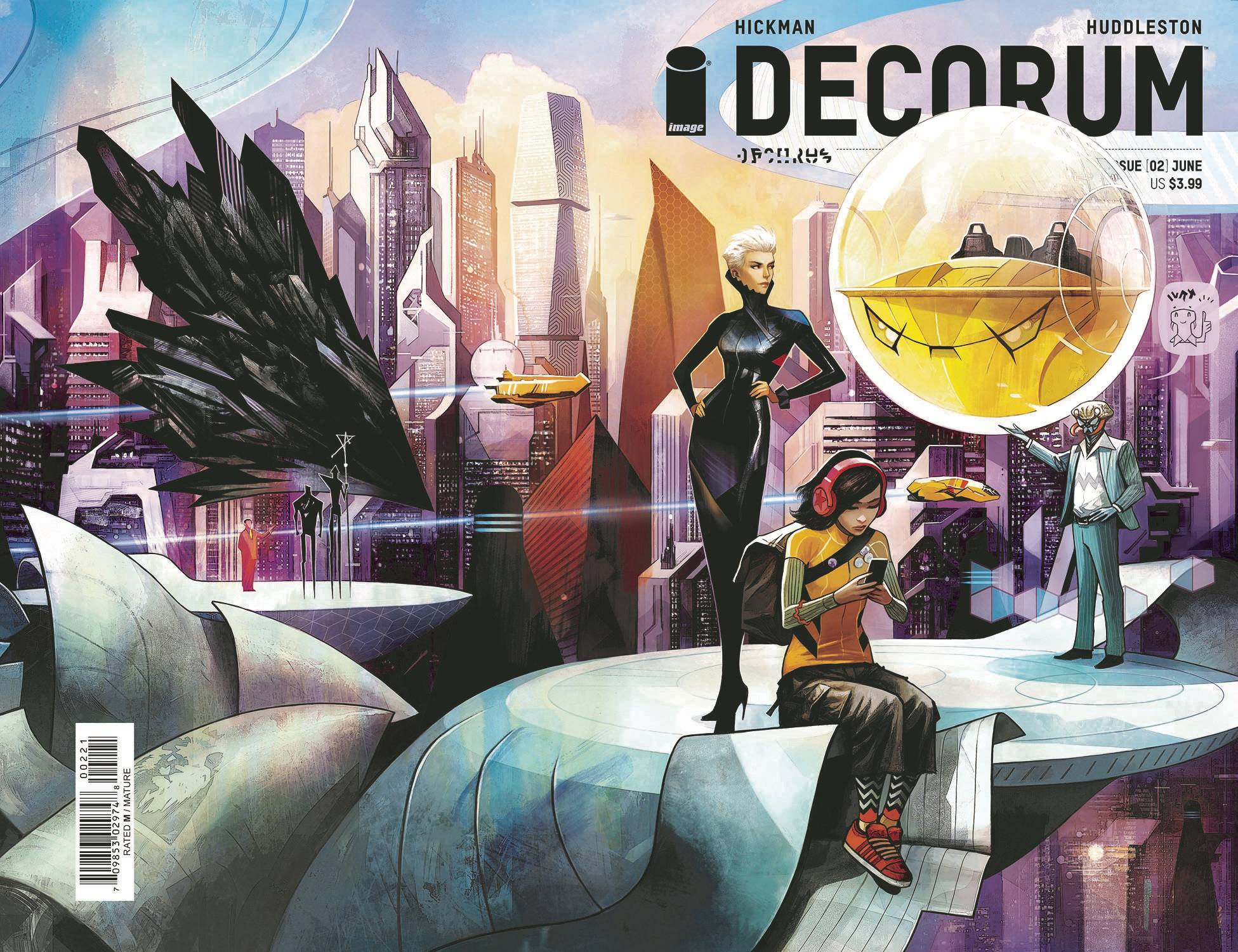DECORUM #2 CVR B HUDDLESTON (MR)