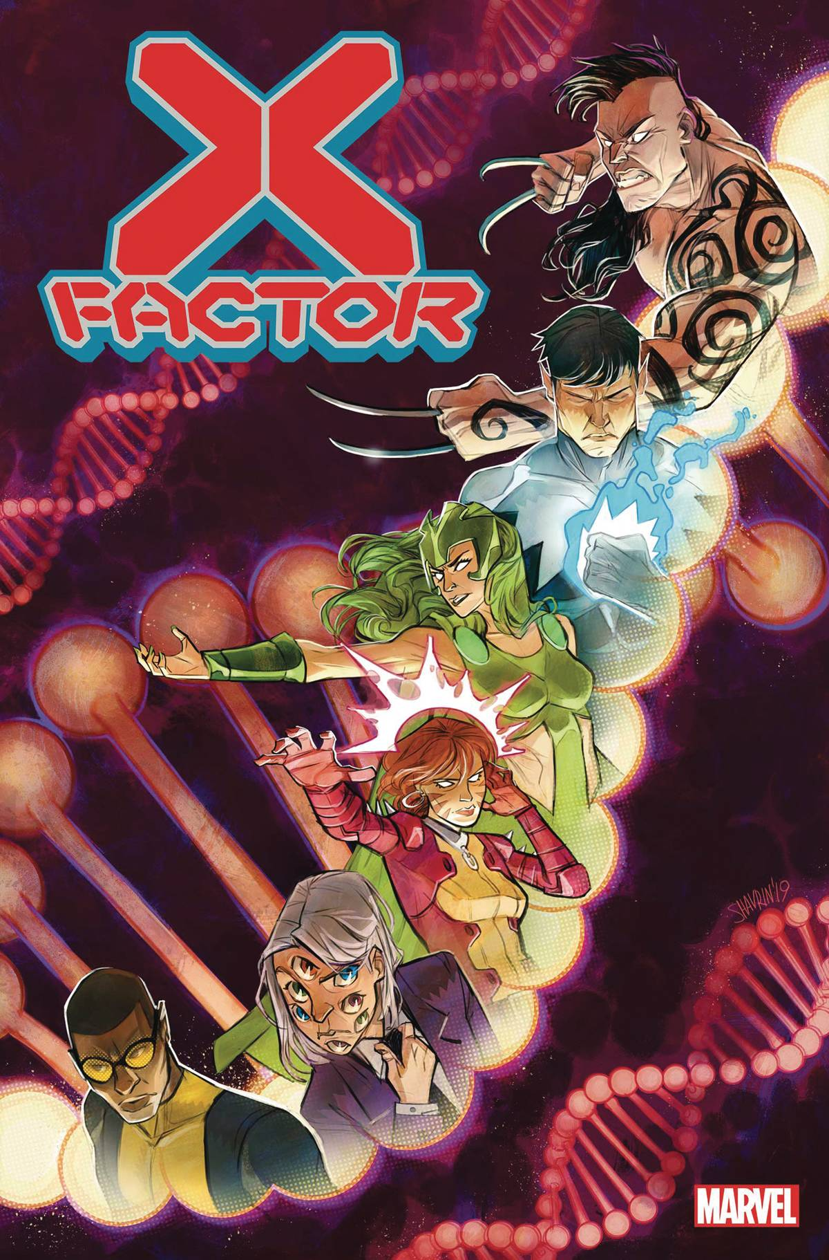 X-FACTOR #1 POSTER