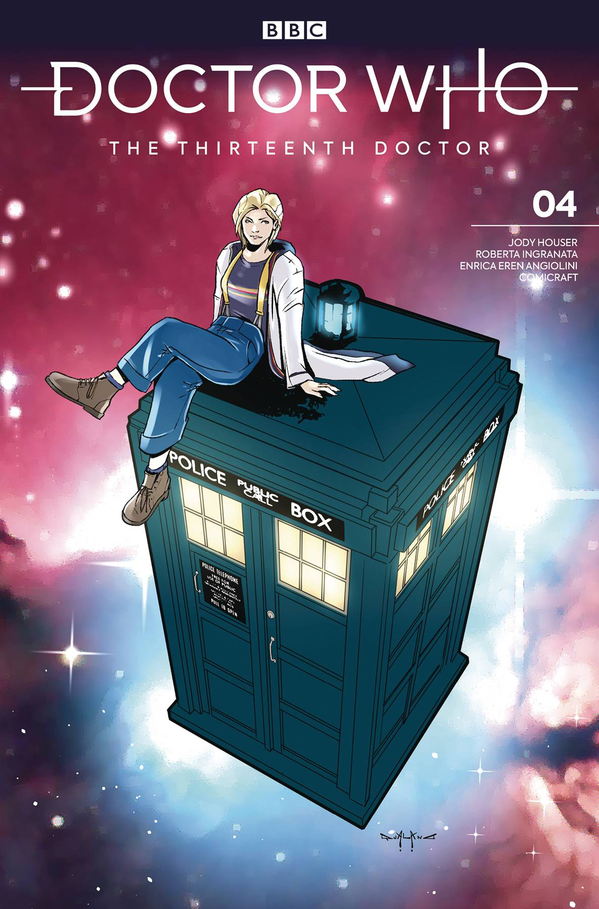 DOCTOR WHO 13TH SEASON TWO #4 CVR C COMICRAFT