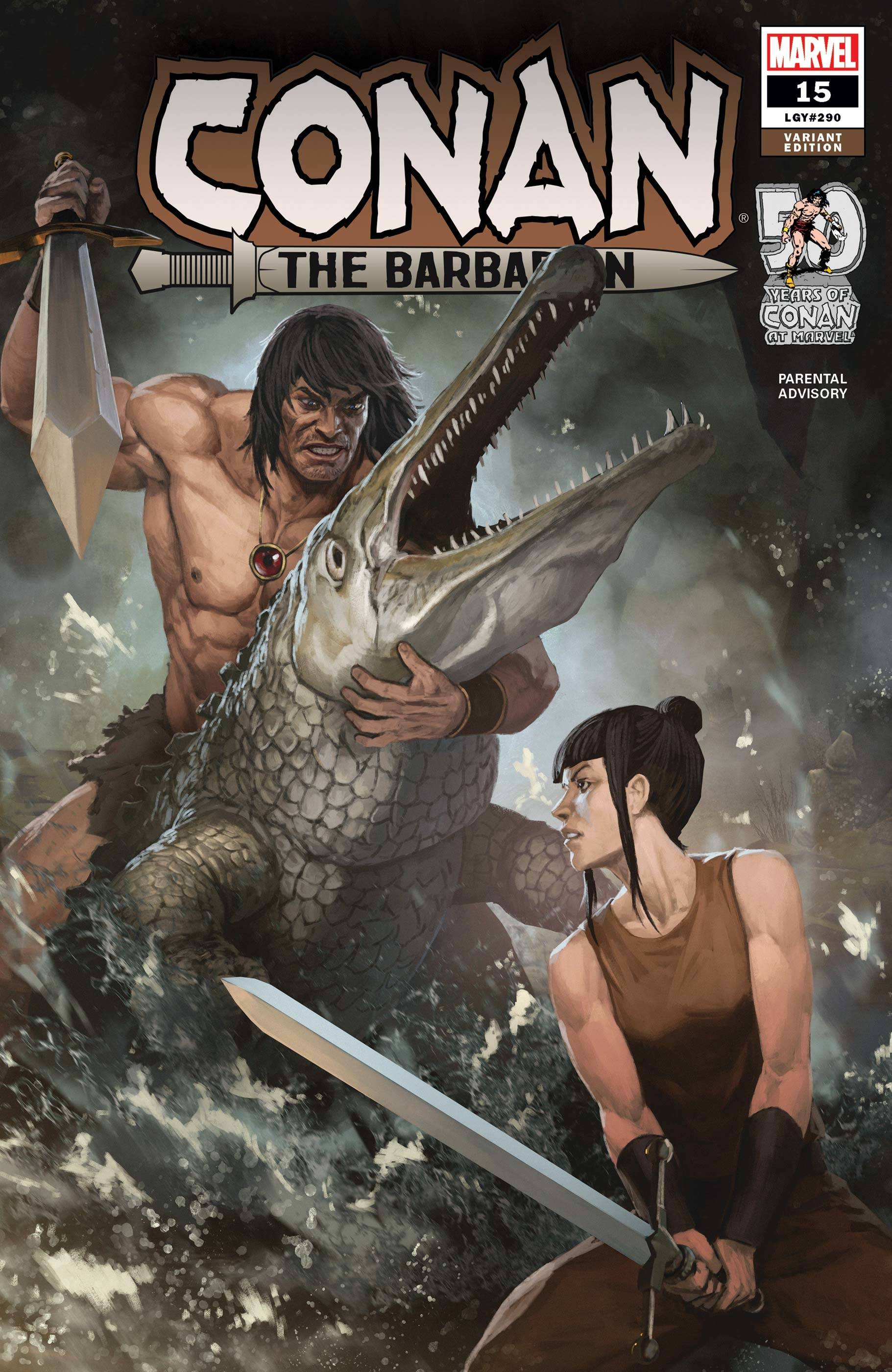 CONAN THE BARBARIAN #15 SKAN VAR