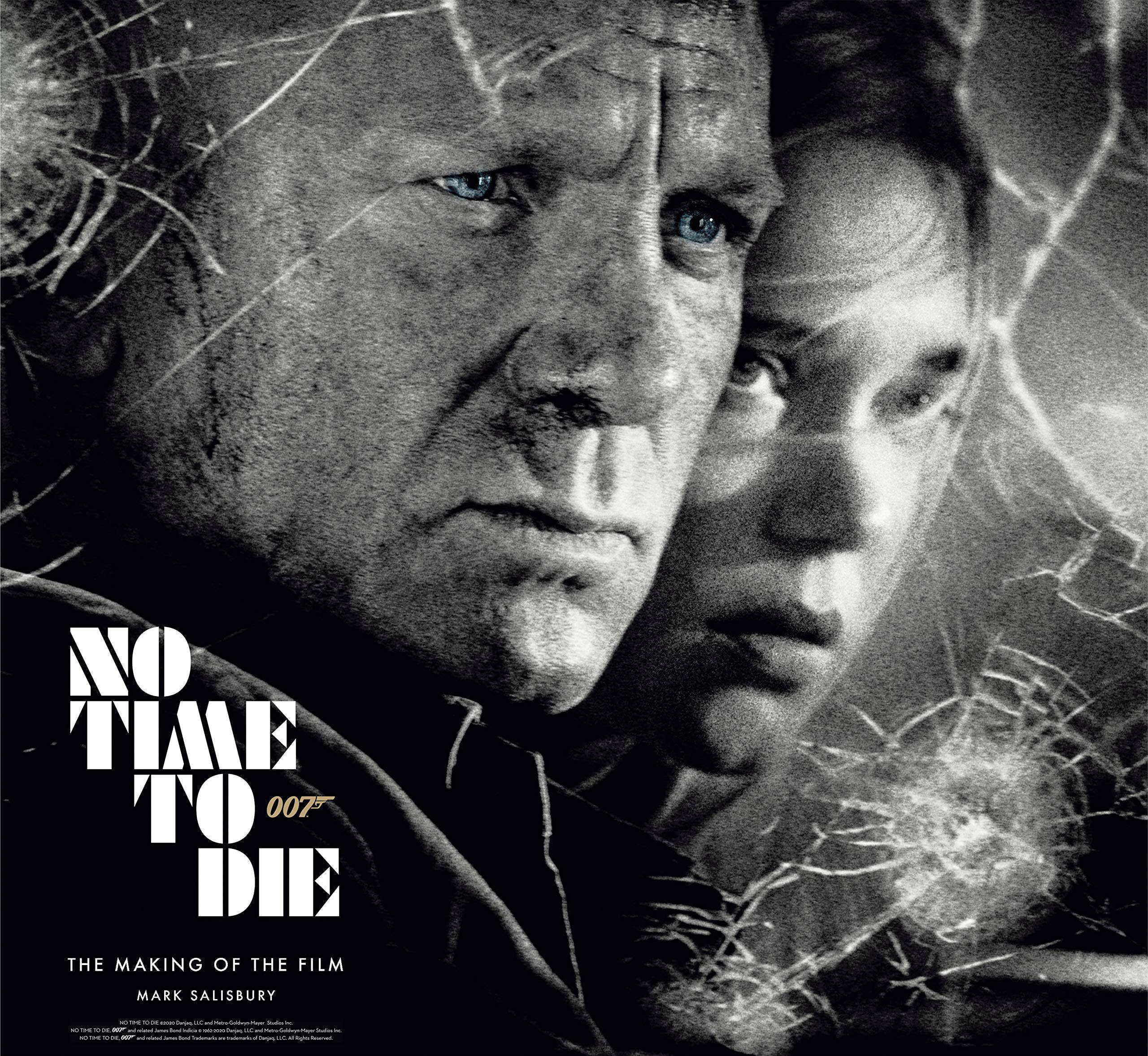 JAMES BOND NO TIME TO DIE MAKING OF THE FILM HC (RES)