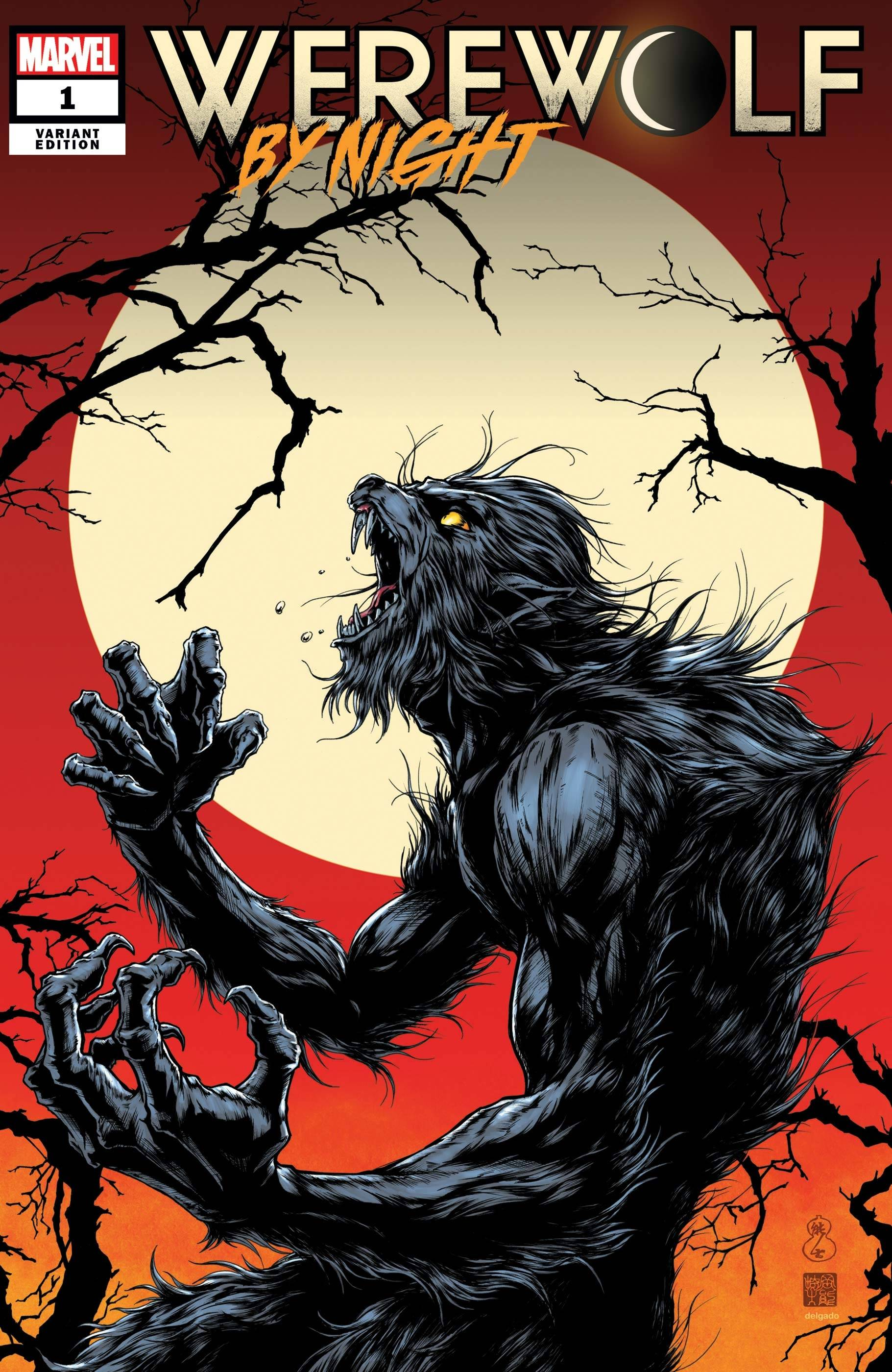 WEREWOLF BY NIGHT #1 (OF 4) OKAZAKI VAR
