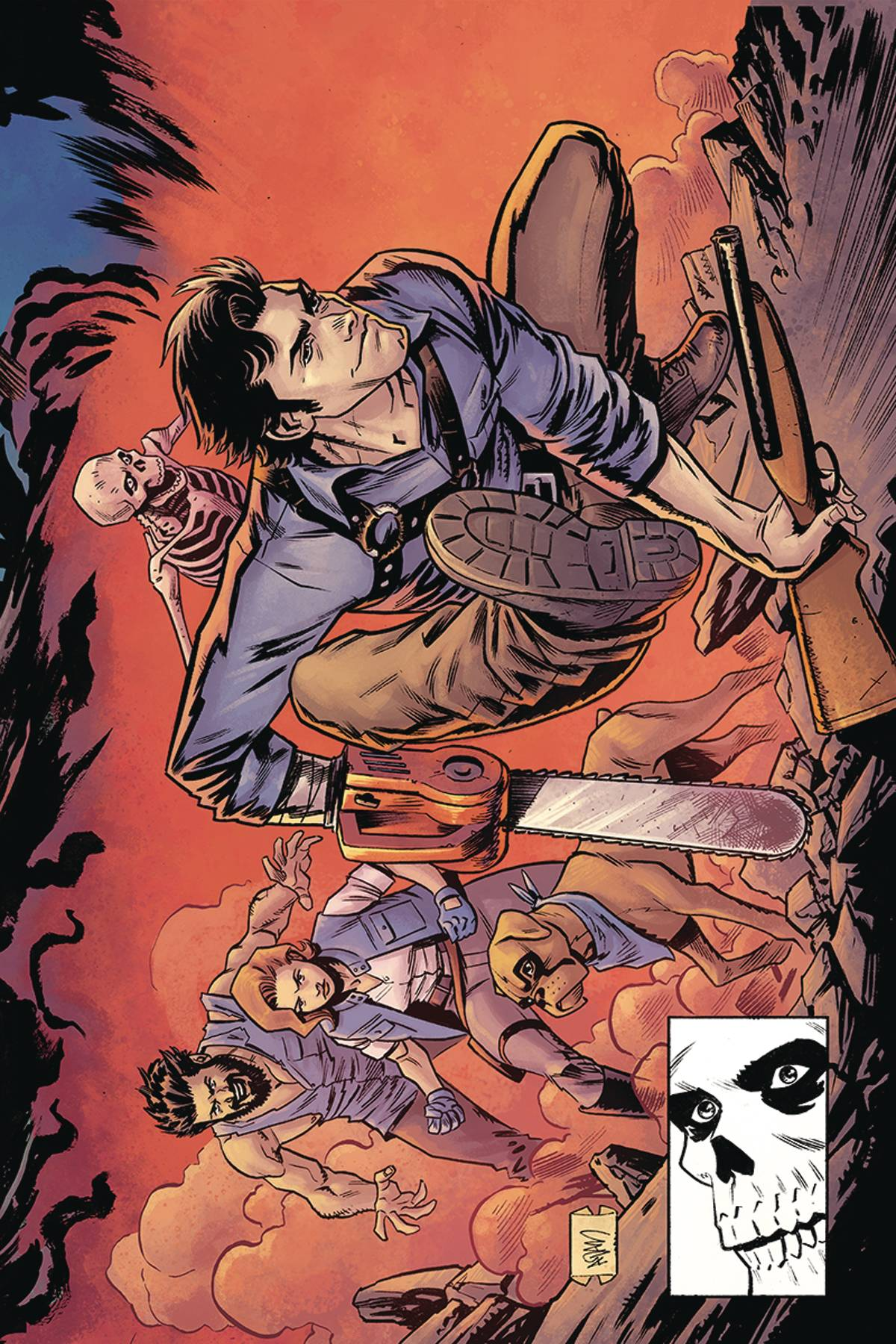 DEATH TO ARMY OF DARKNESS #3 15 COPY GORHAM HOMAGE VIRGIN IN