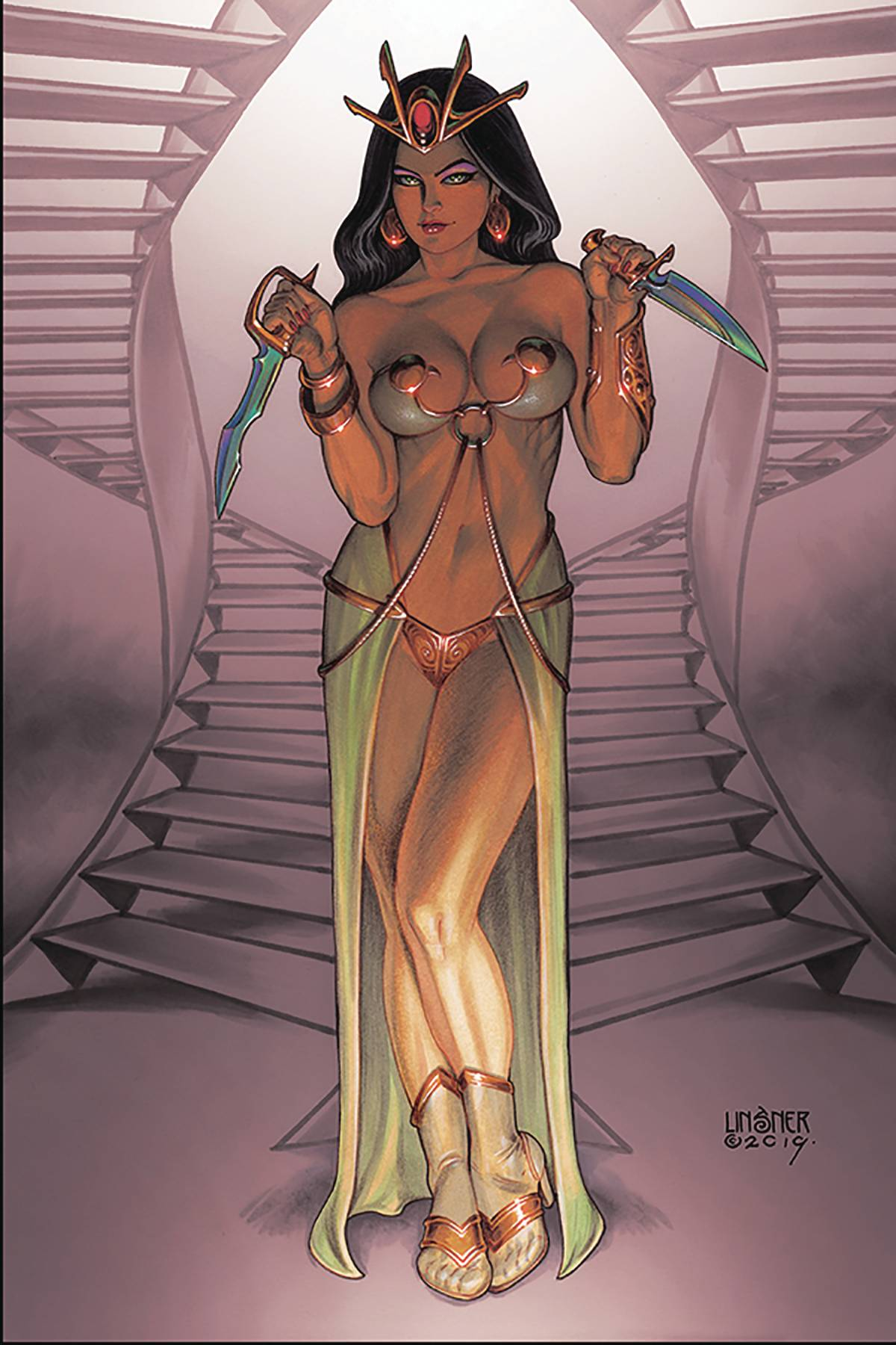 DEJAH THORIS (2019) #5 LINSNER LTD VIRGIN CVR