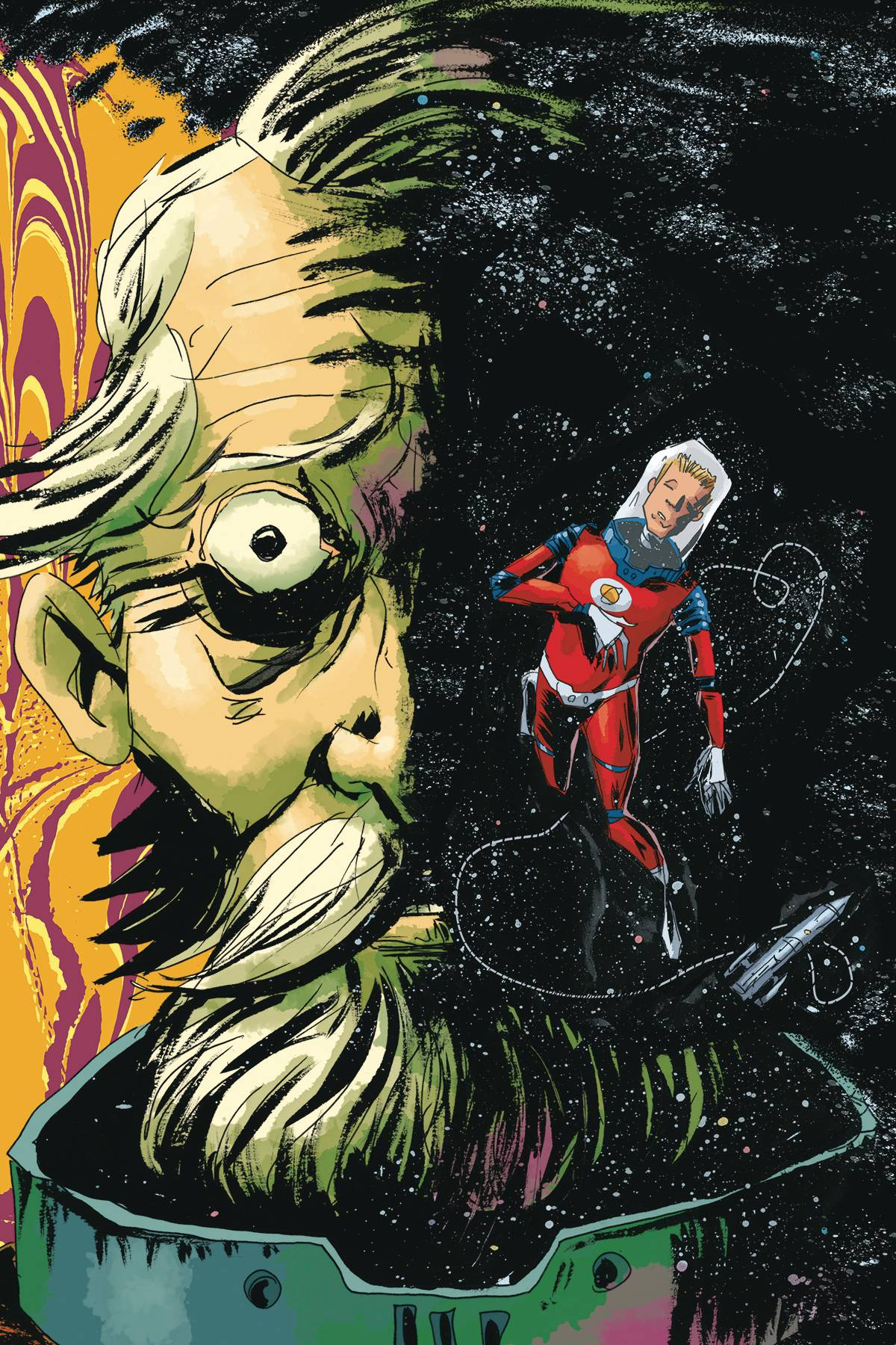 COLONEL WEIRD COSMAGOG #1 (OF 4) CVR B LEMIRE & STEWART (RES