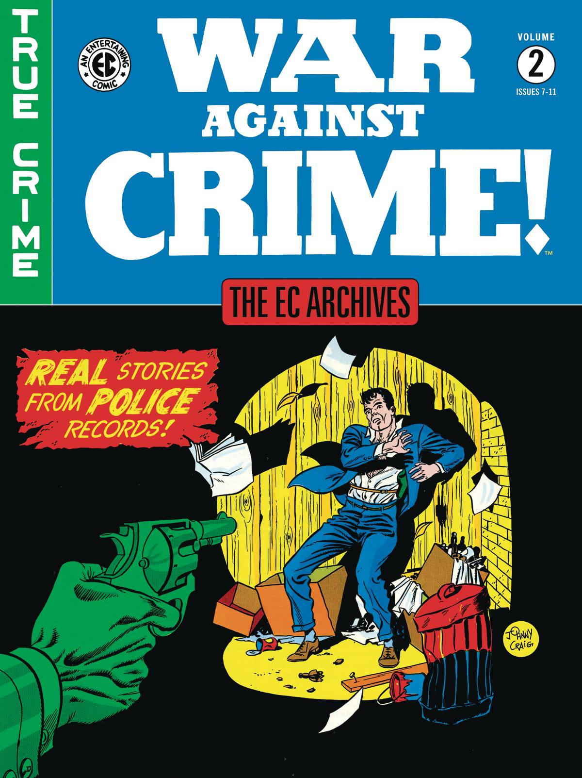 EC ARCHIVES WAR AGAINST CRIME HC VOL 02