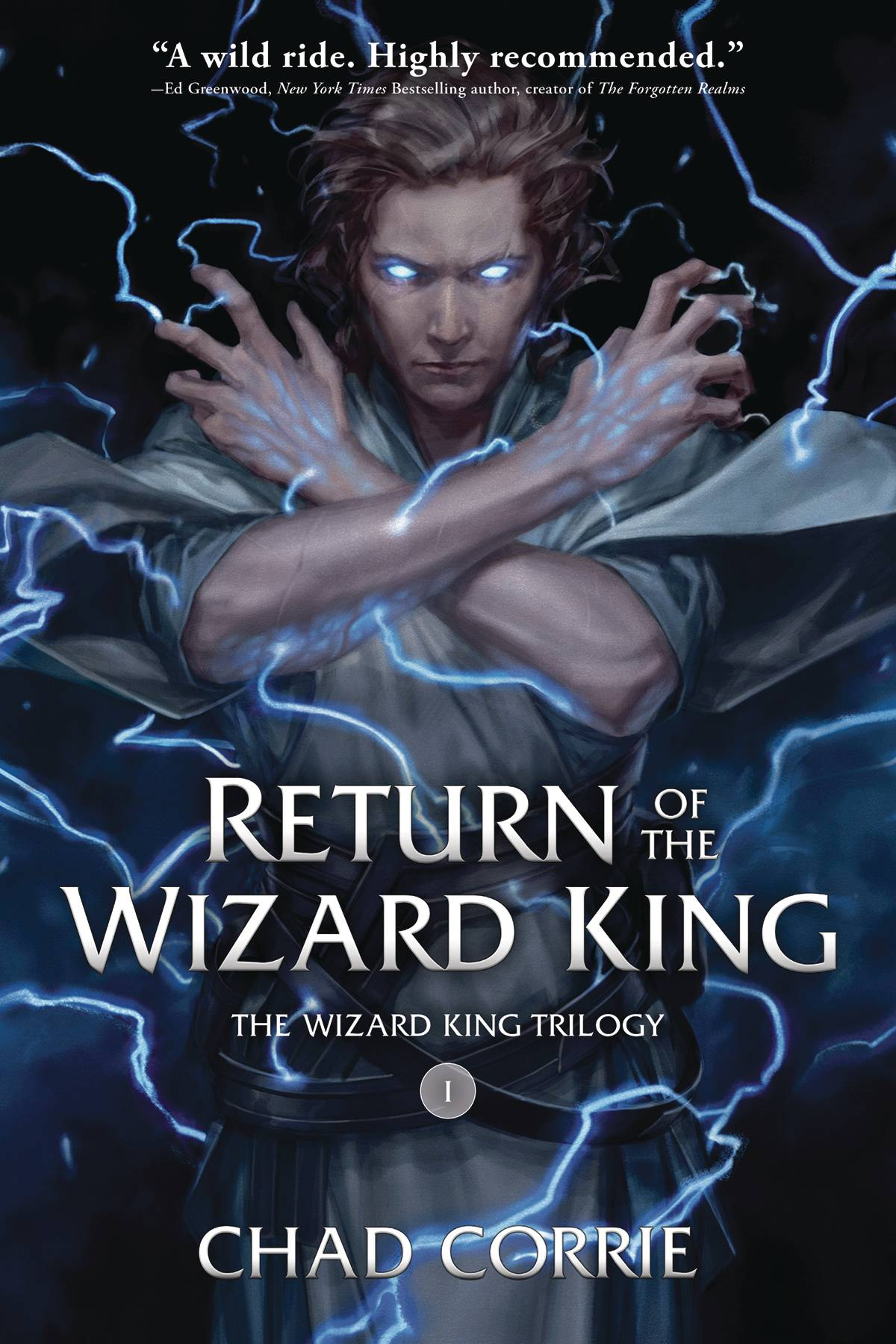 RETURN OF THE WIZARD KING TP VOL 01 PROSE NOVEL (RES)