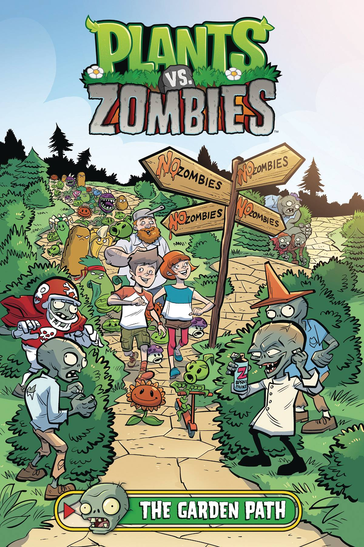 PLANTS VS ZOMBIES GARDEN PATH HC