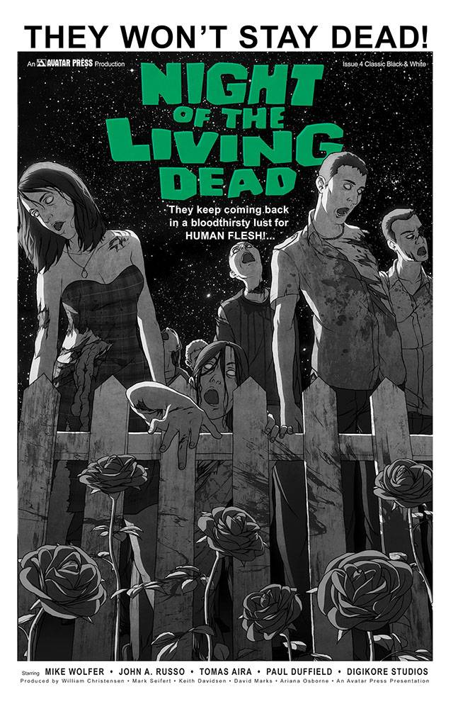 NIGHT OF THE LIVING DEAD #4 CLASSIC VAR (MR)