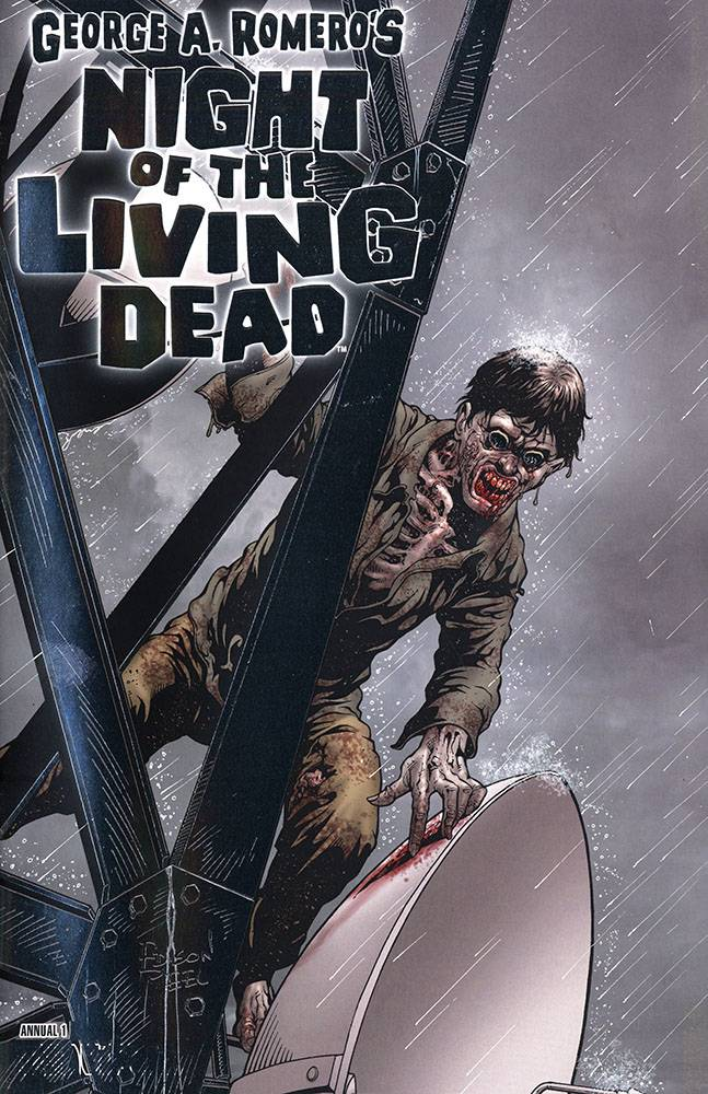 NIGHT OF THE LIVING DEAD ANNUAL #1 PLAT FOIL VAR (MR)